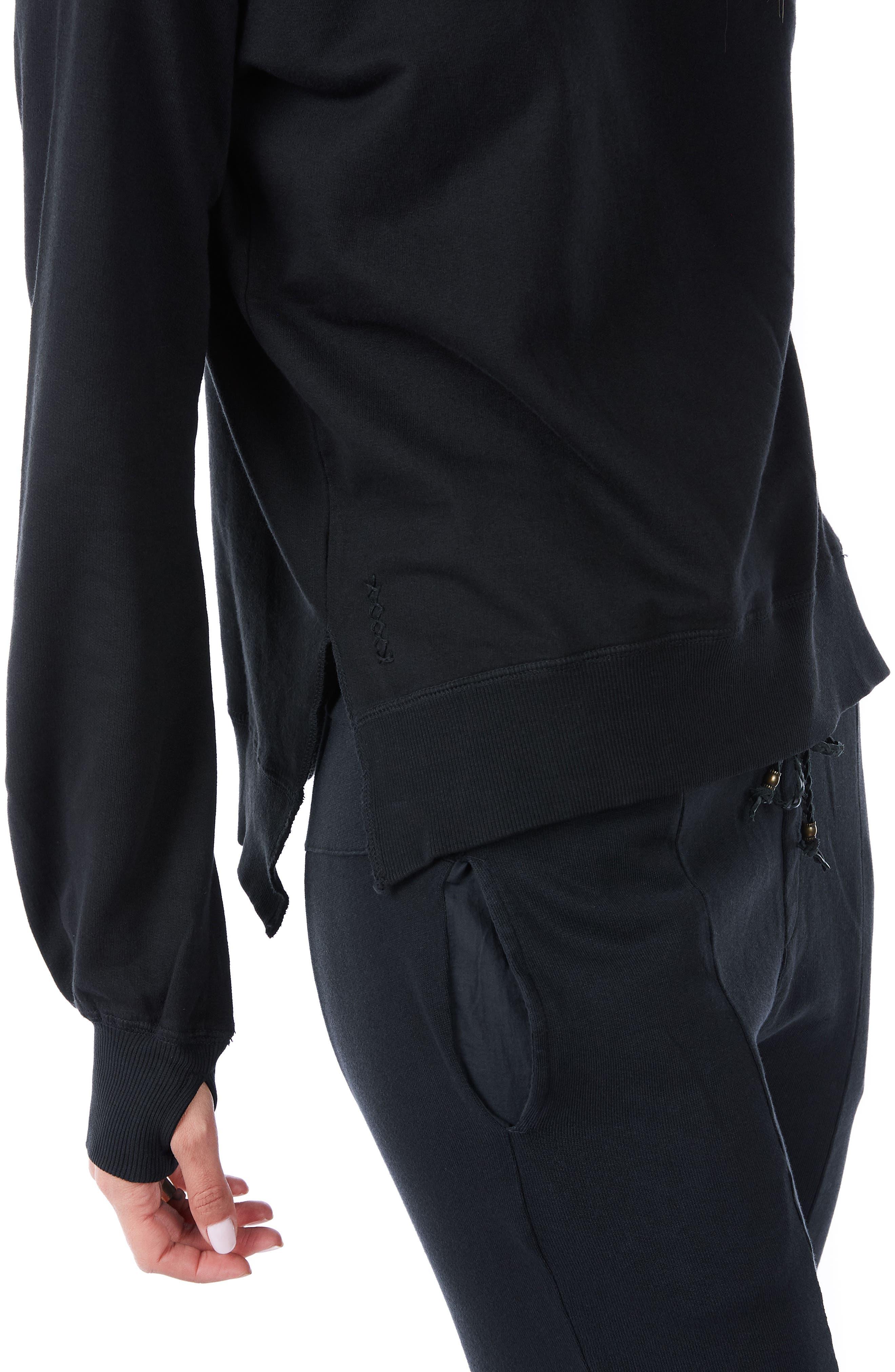 Alternate Image 2  - Ragdoll Crewneck Cotton Sweatshirt