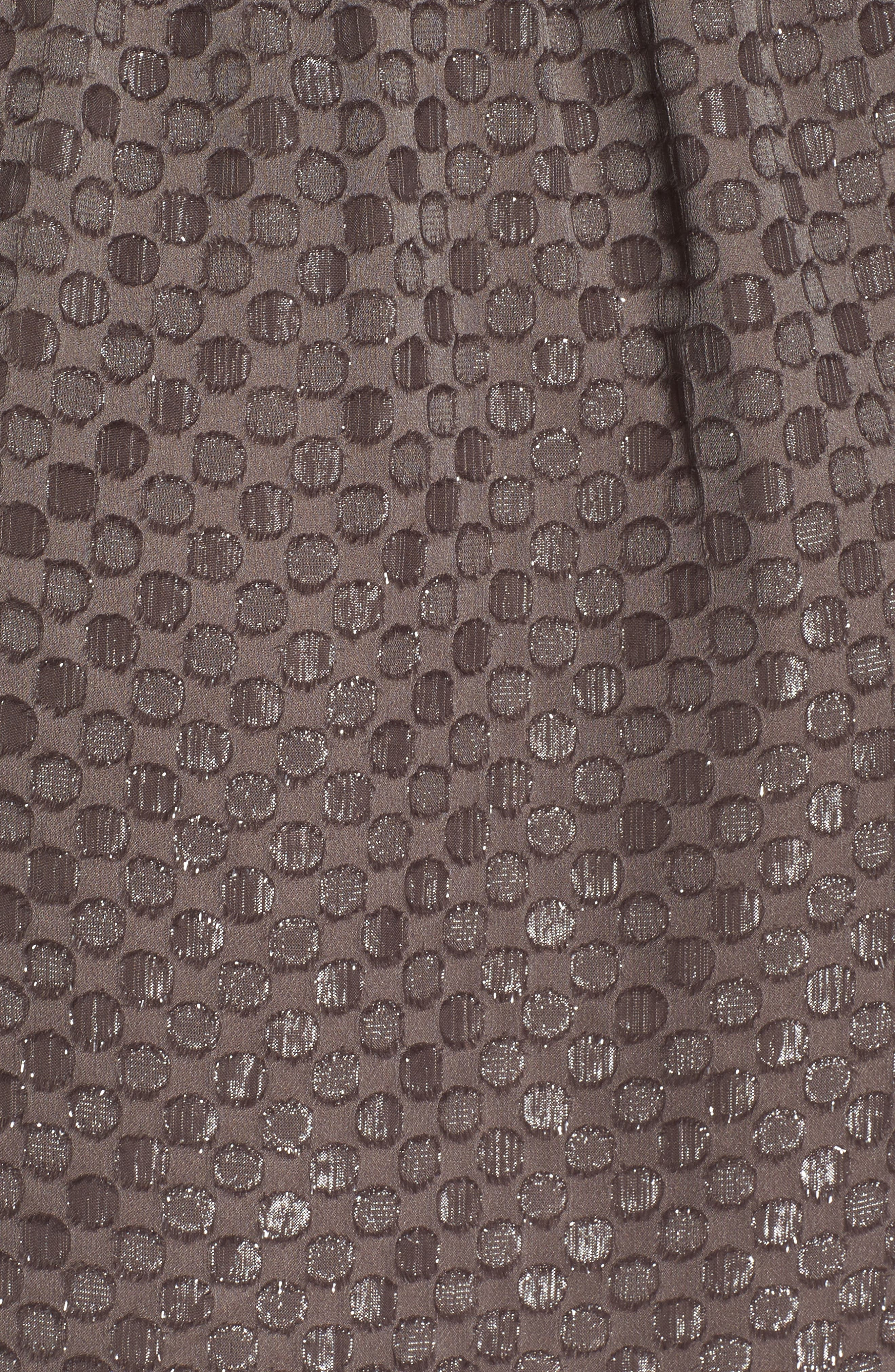 Cornelia Blouson Dress,                             Alternate thumbnail 5, color,                             Brown