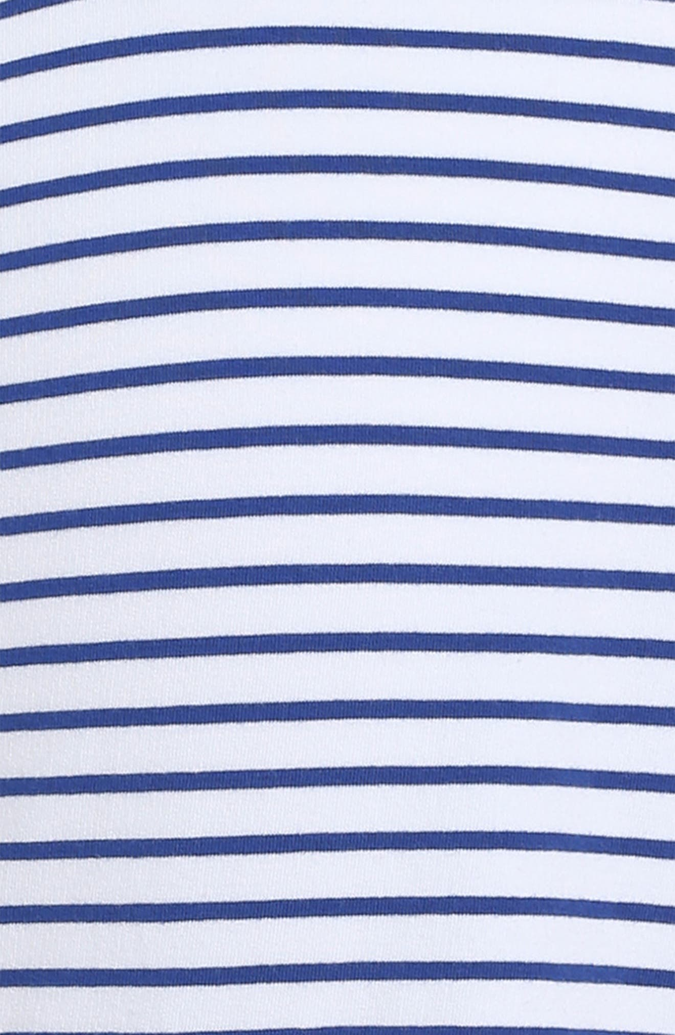 Alternate Image 3  - vineyard vines Stripe Stretch Cotton Shift Dress (Little Girls & Big Girls)