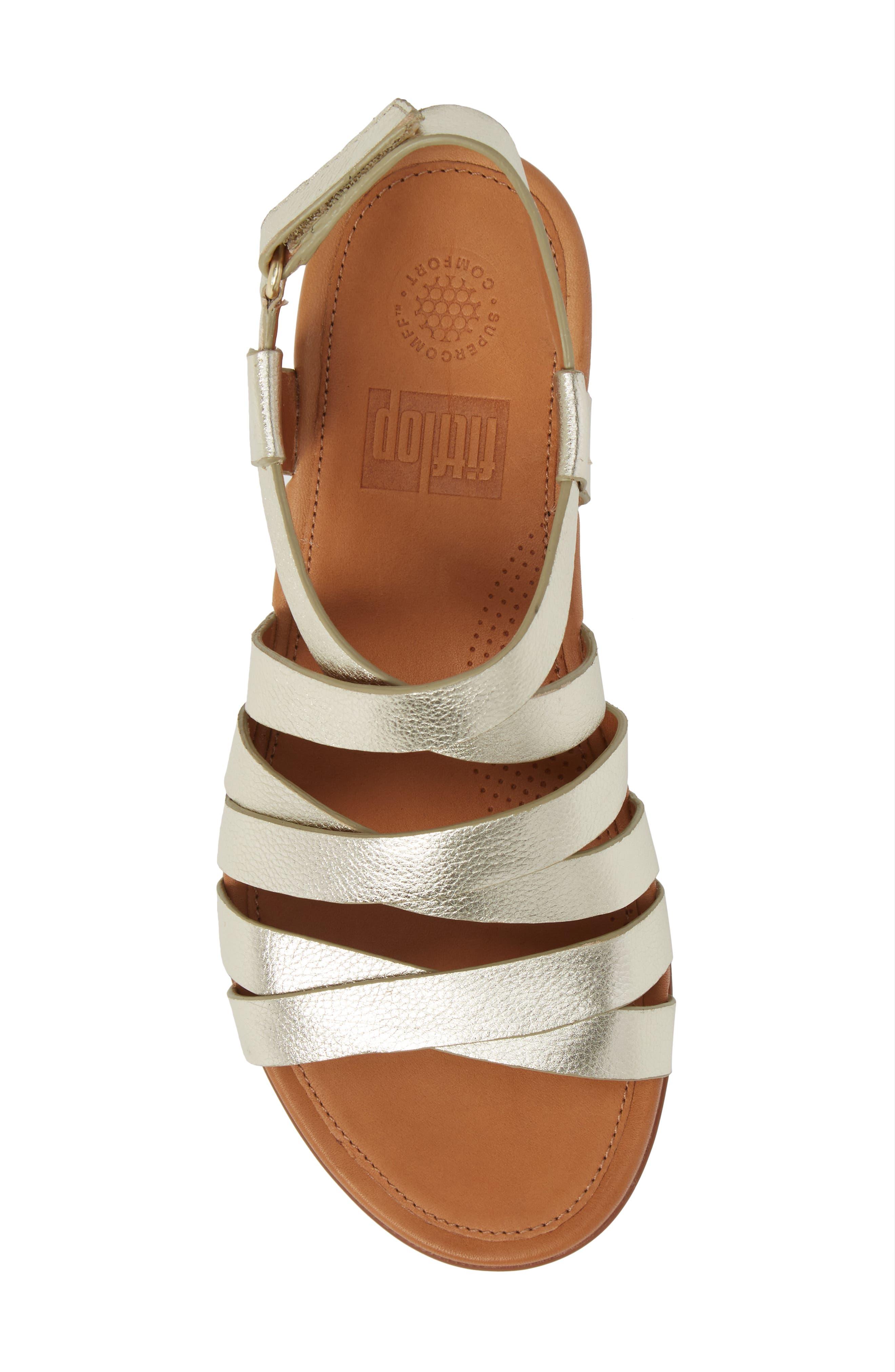 Alternate Image 5  - FitFlop Lumy Gladiator Sandal (Women)