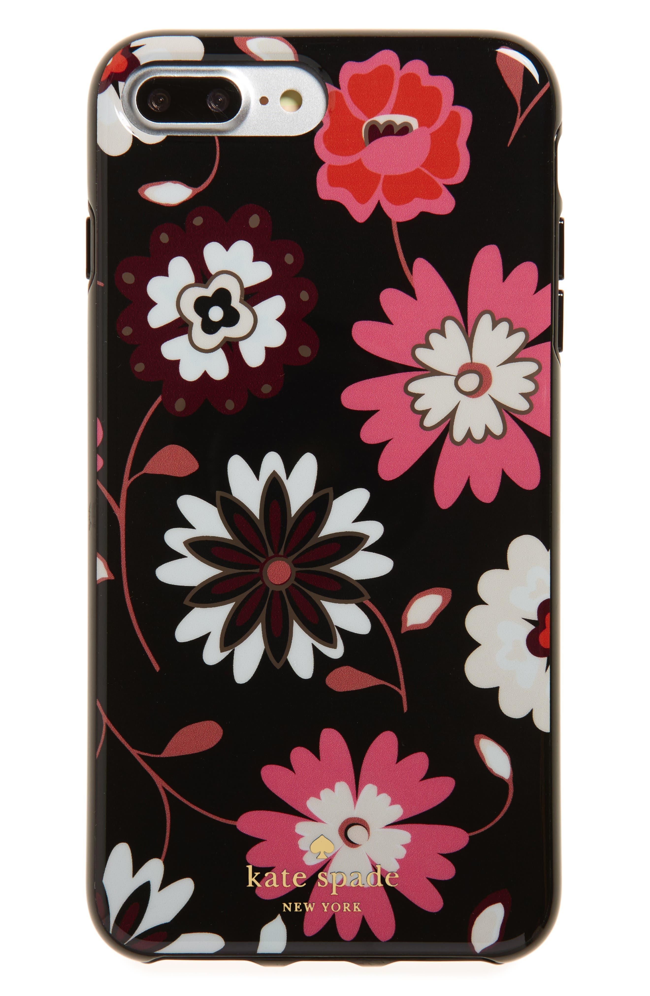 Alternate Image 1 Selected - kate spade new york casa flora iPhone 7/8 & 7/8 Plus case
