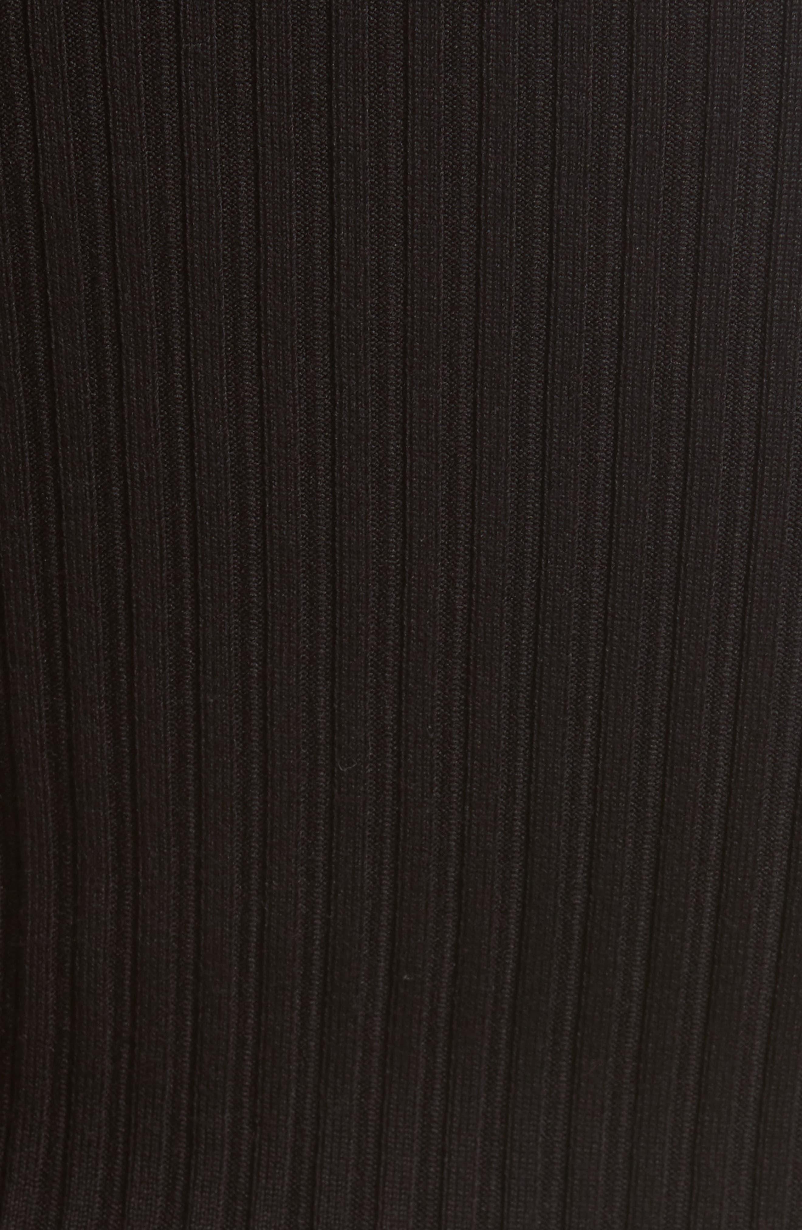 Alternate Image 6  - Helmut Lang Knit Silk Off the Shoulder Sweater