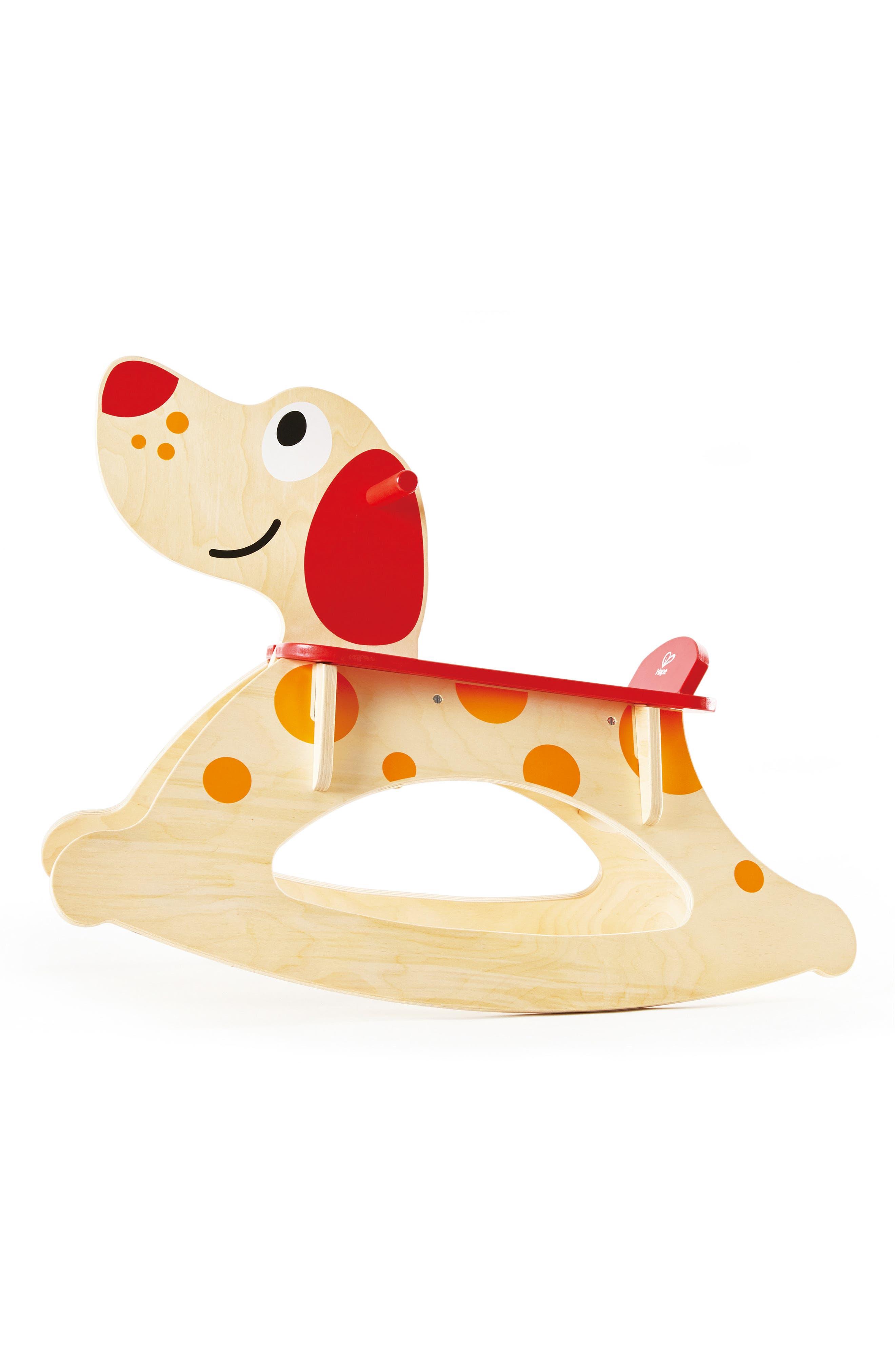 Rock-A-Long Puppy Ride-On,                             Main thumbnail 1, color,                             Tan