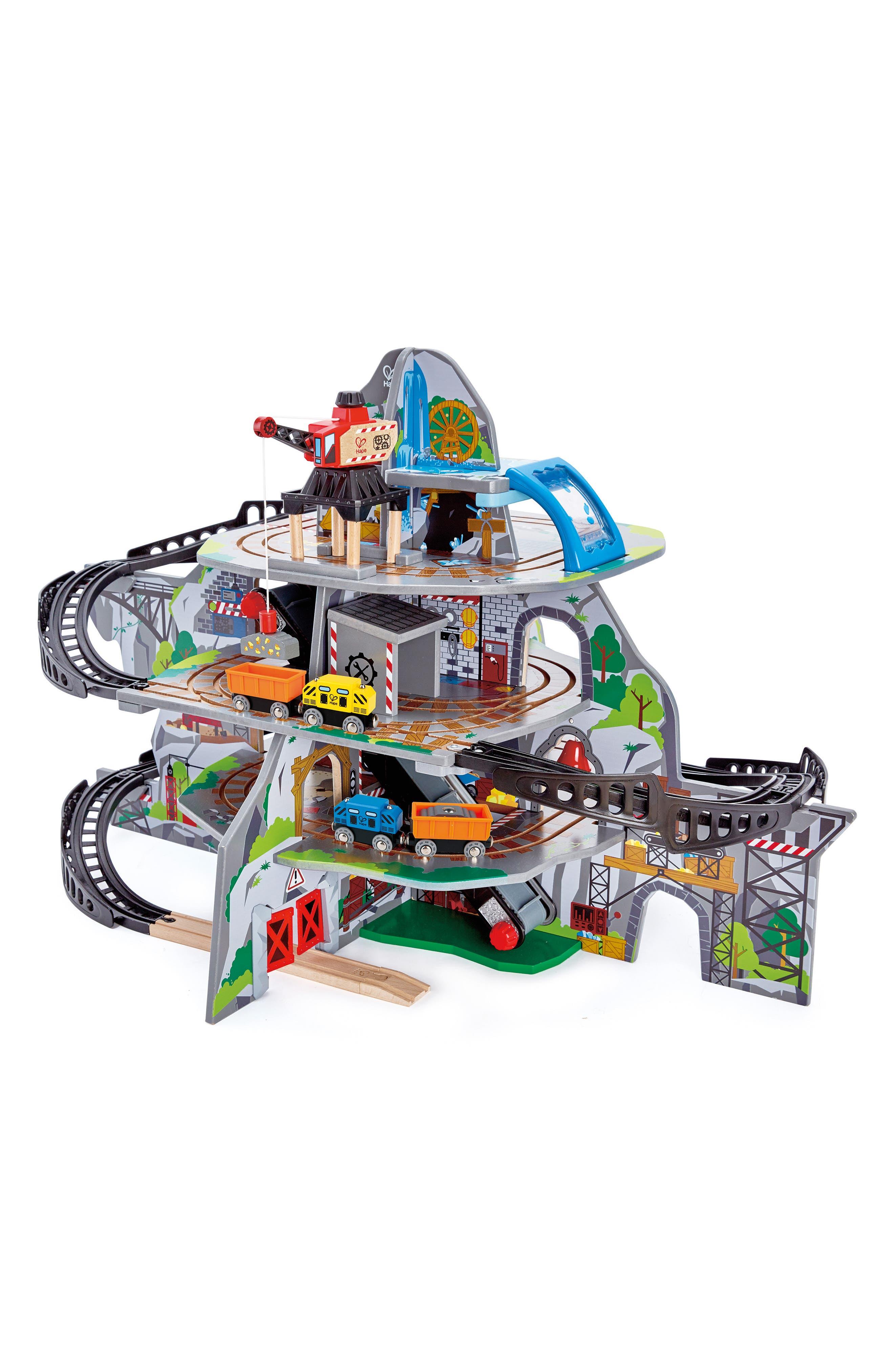 Mighty Mountain Mine Railway Set,                         Main,                         color, Multi