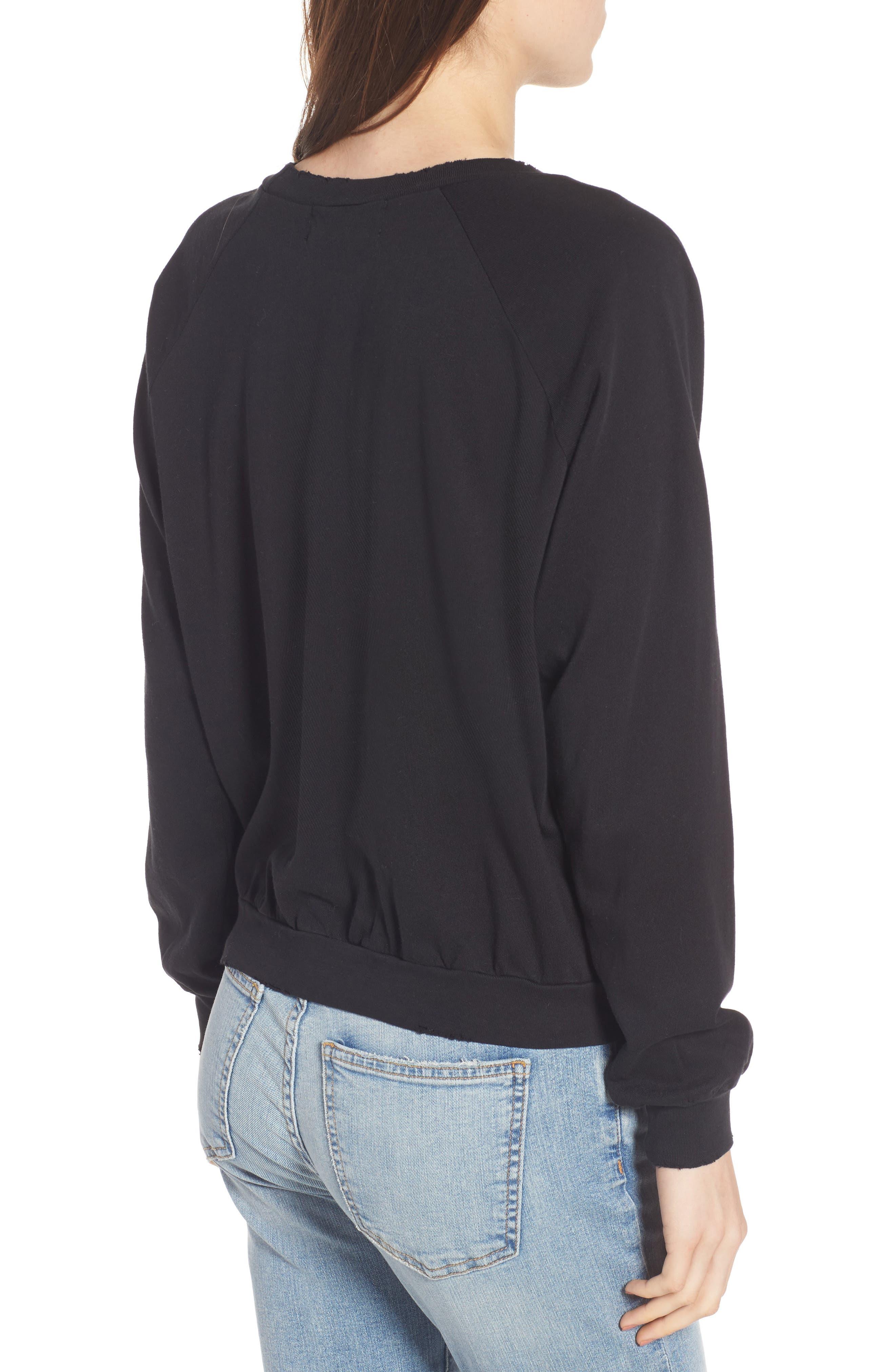 Alchemy Junior Sweatshirt,                             Alternate thumbnail 2, color,                             Black