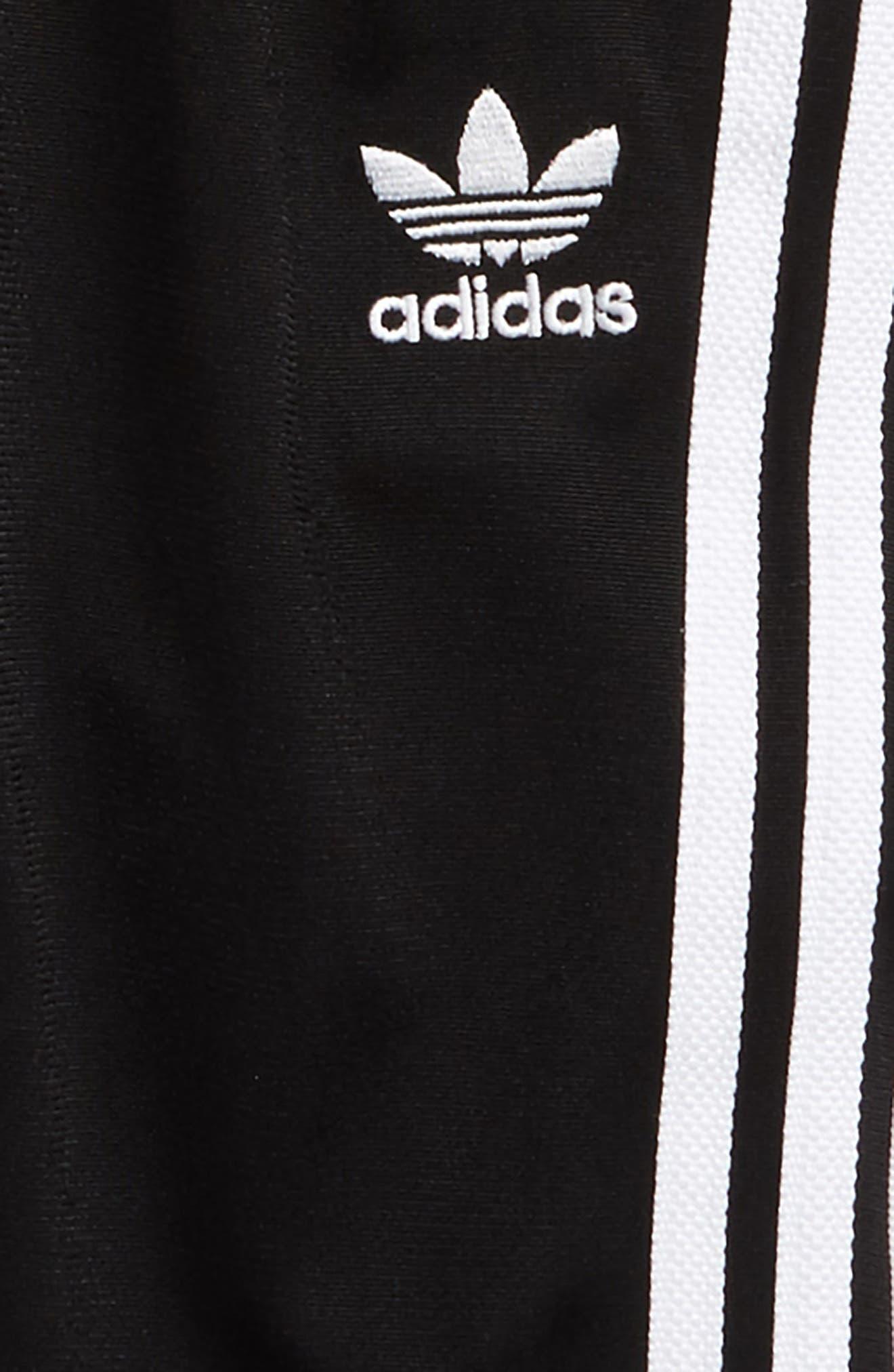 Logo Track Jacket & Pants Set,                             Alternate thumbnail 2, color,                             Black/ White