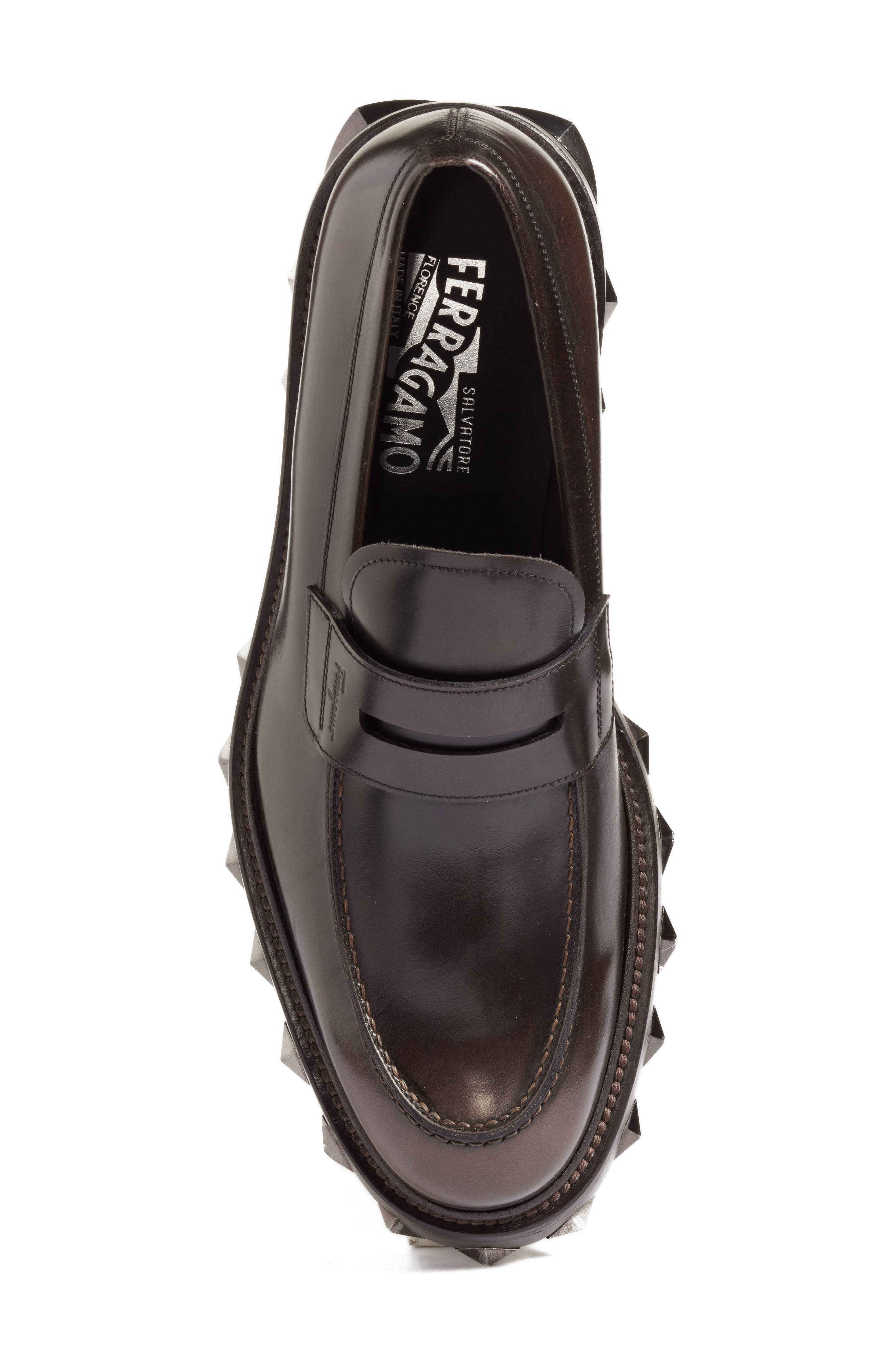 Alternate Image 5  - Salvatore Ferragamo Penny Loafer (Men)
