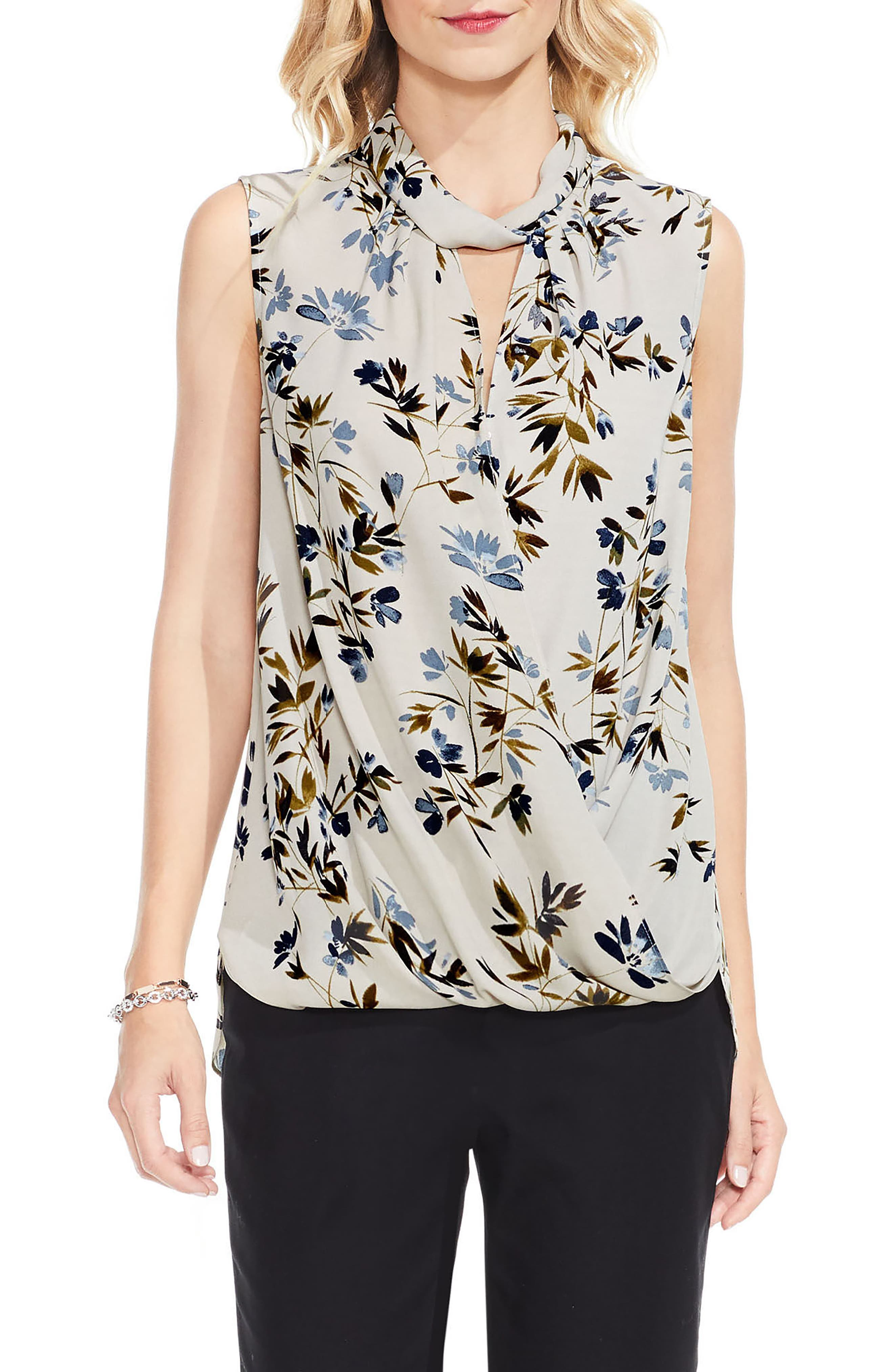 Main Image - Vince Camuto Timeless Bouquet Blouse