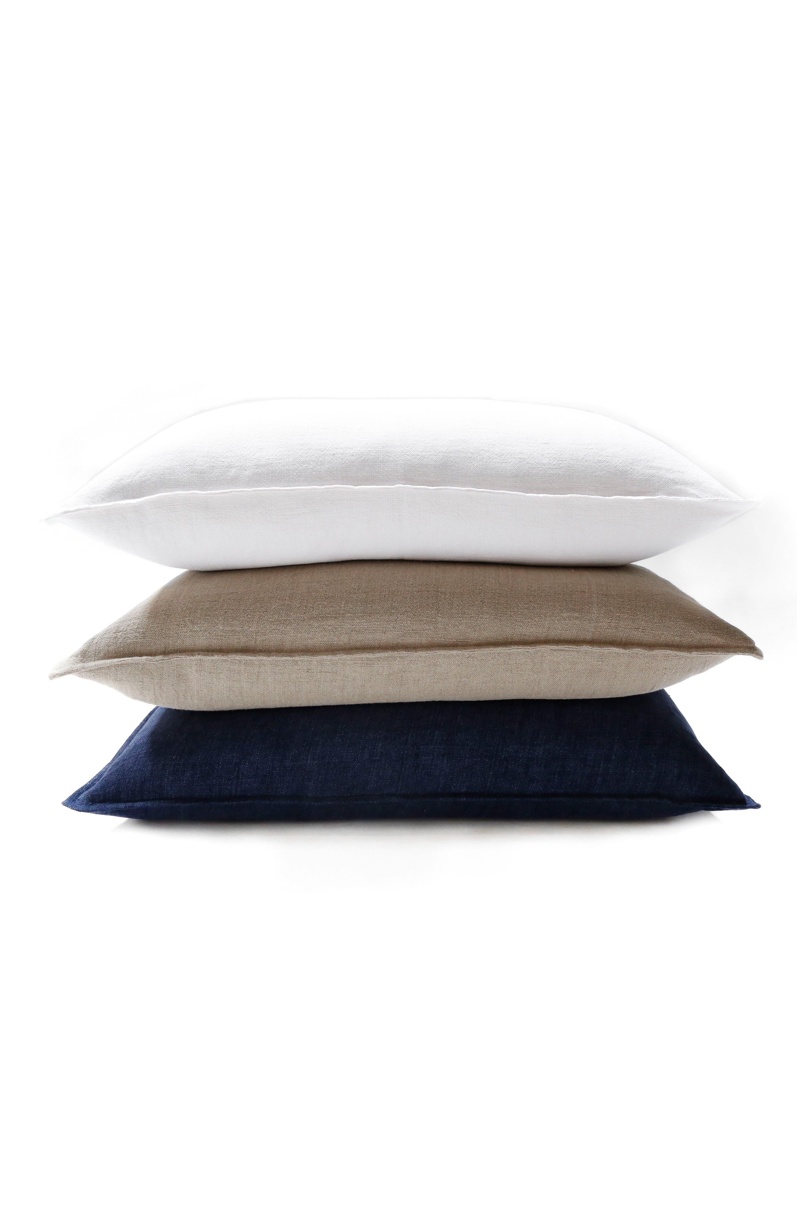 Montauk Big Accent Pillow,                             Alternate thumbnail 2, color,                             Brown