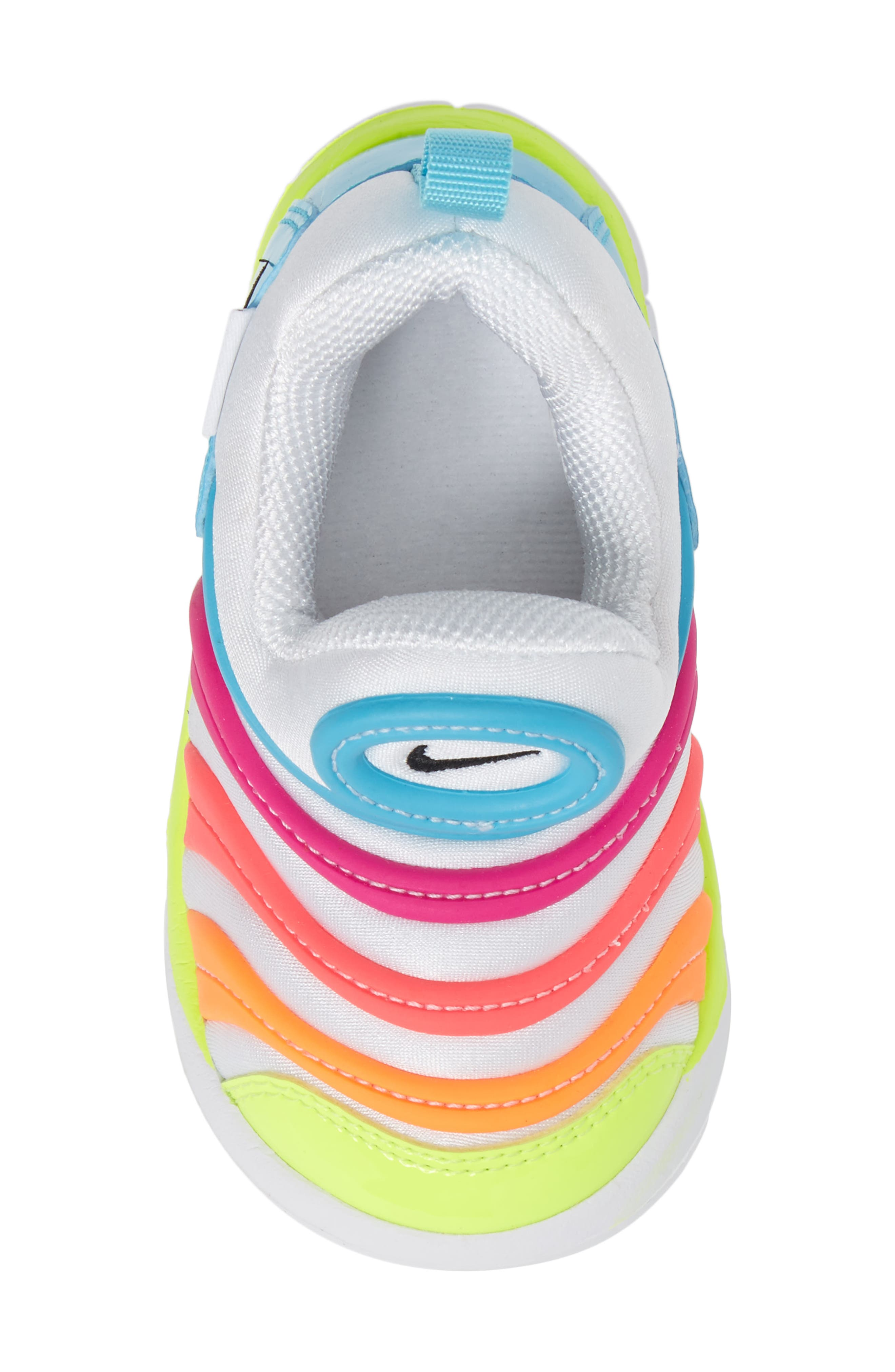 Alternate Image 5  - Nike Dynamo Free Sneaker (Baby, Walker, & Toddler)