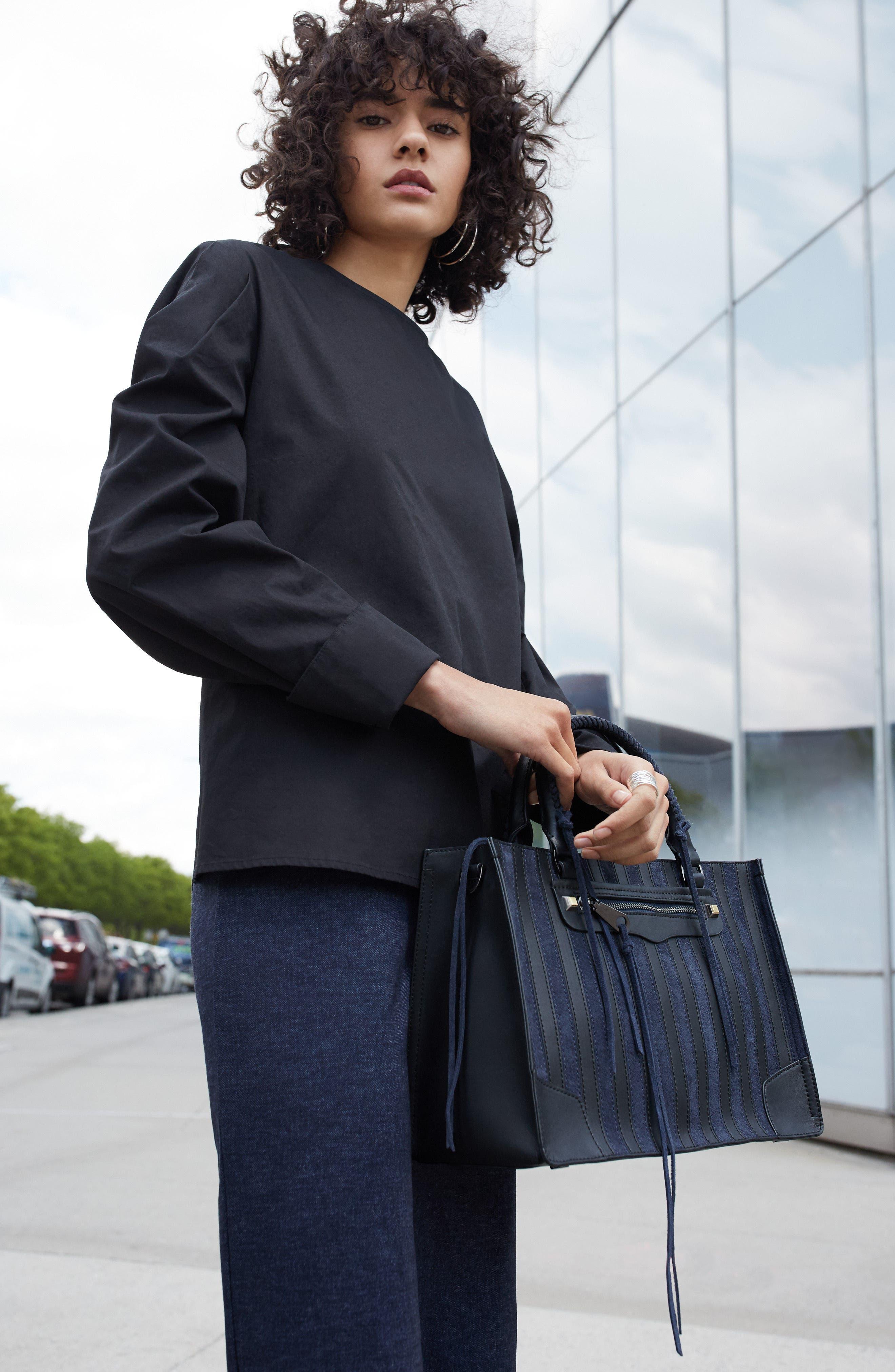 Alternate Image 2  - Halogen® Knit Pencil Skirt (Regular & Petite)