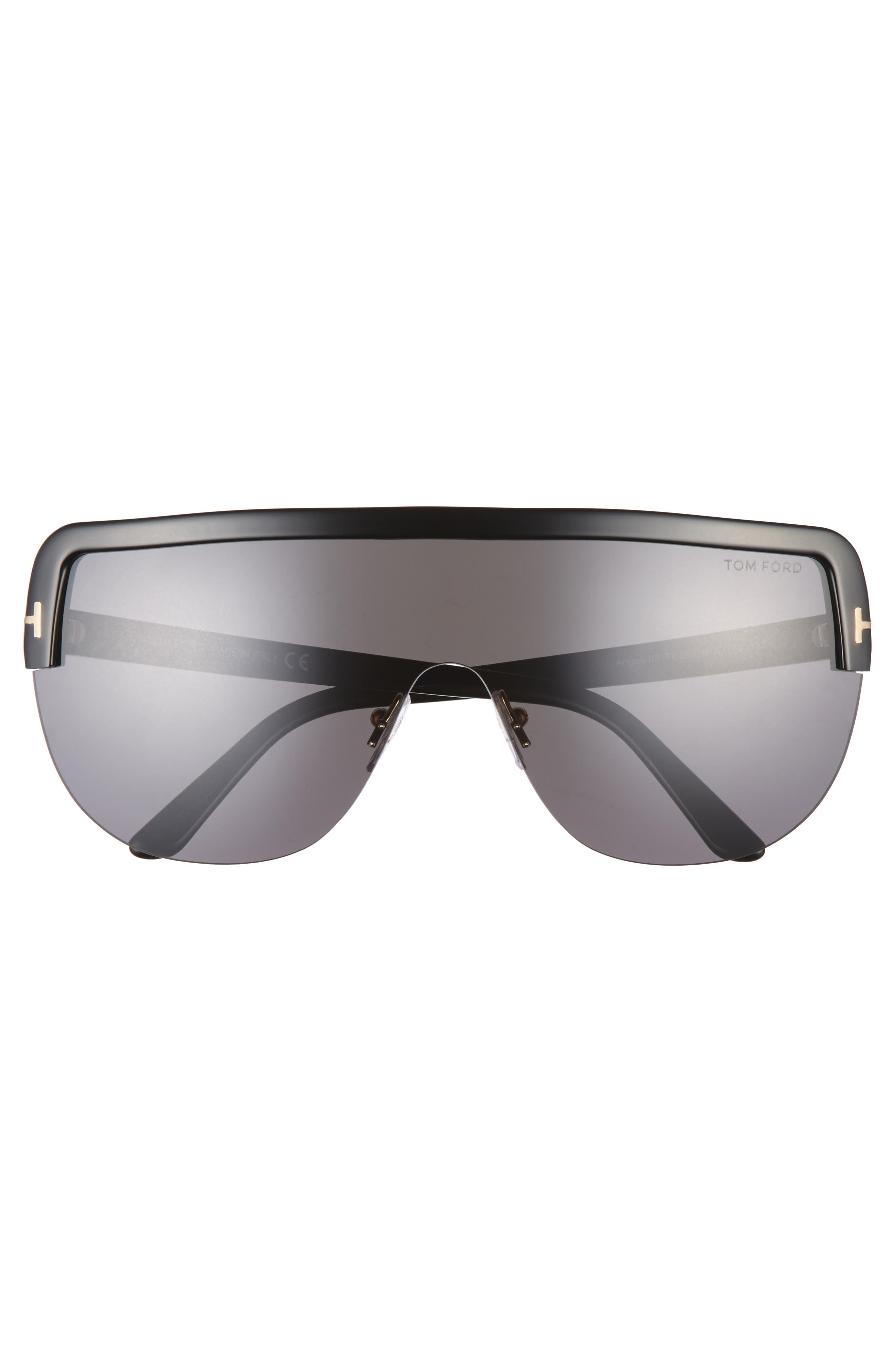 Alternate Image 2  - Tom Ford Angus 66mm Shield Sunglasses