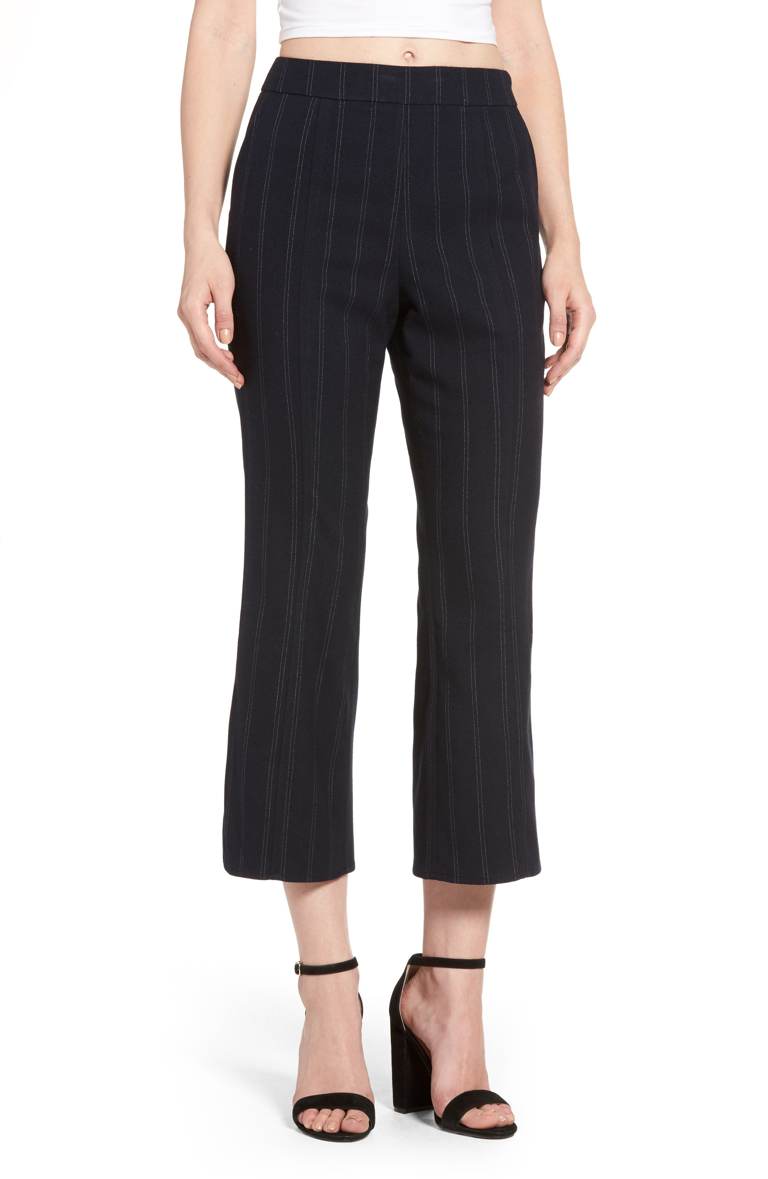 Alternate Image 1 Selected - Leith Crop Flare Pants