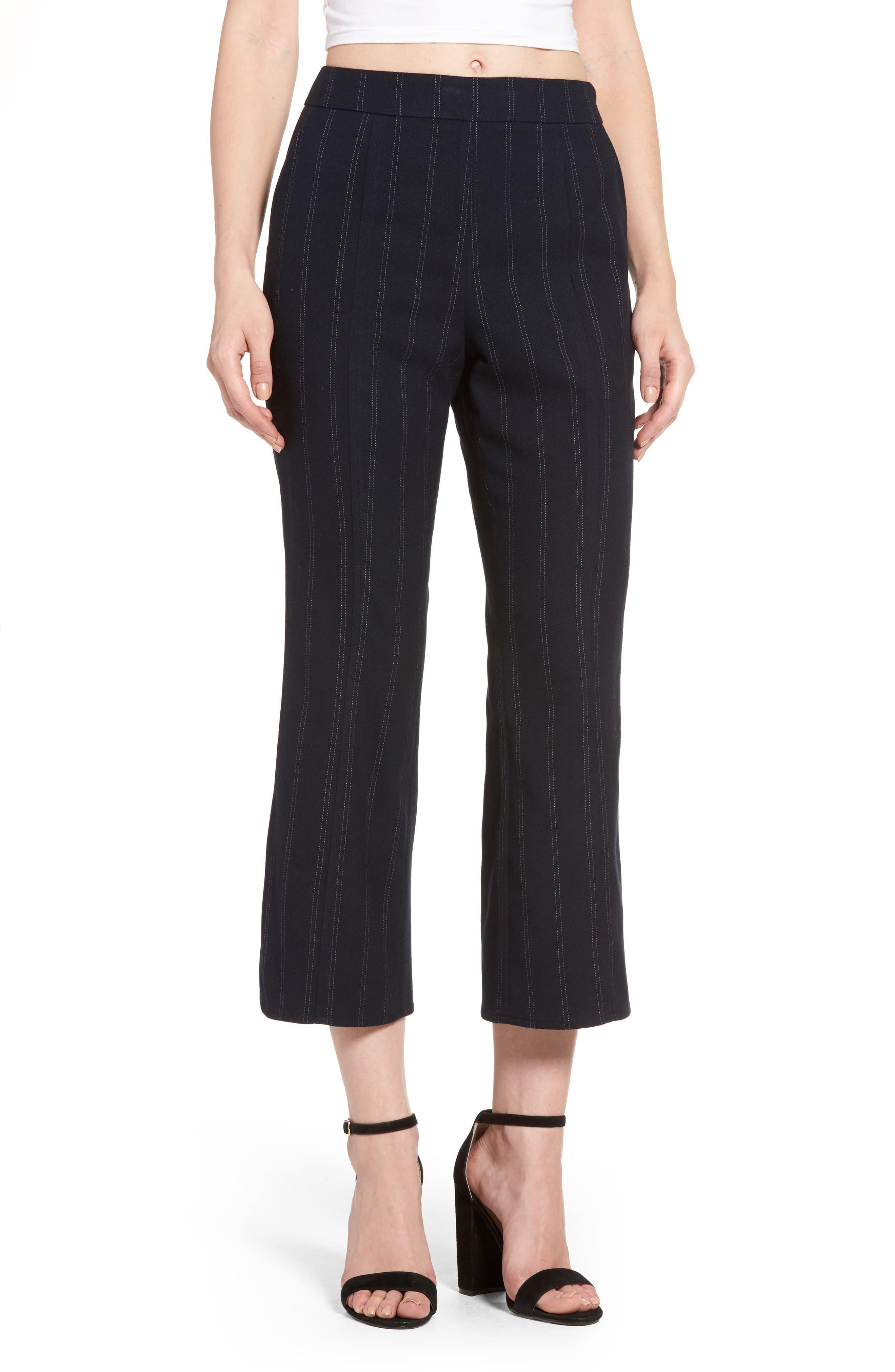 Main Image - Leith Crop Flare Pants