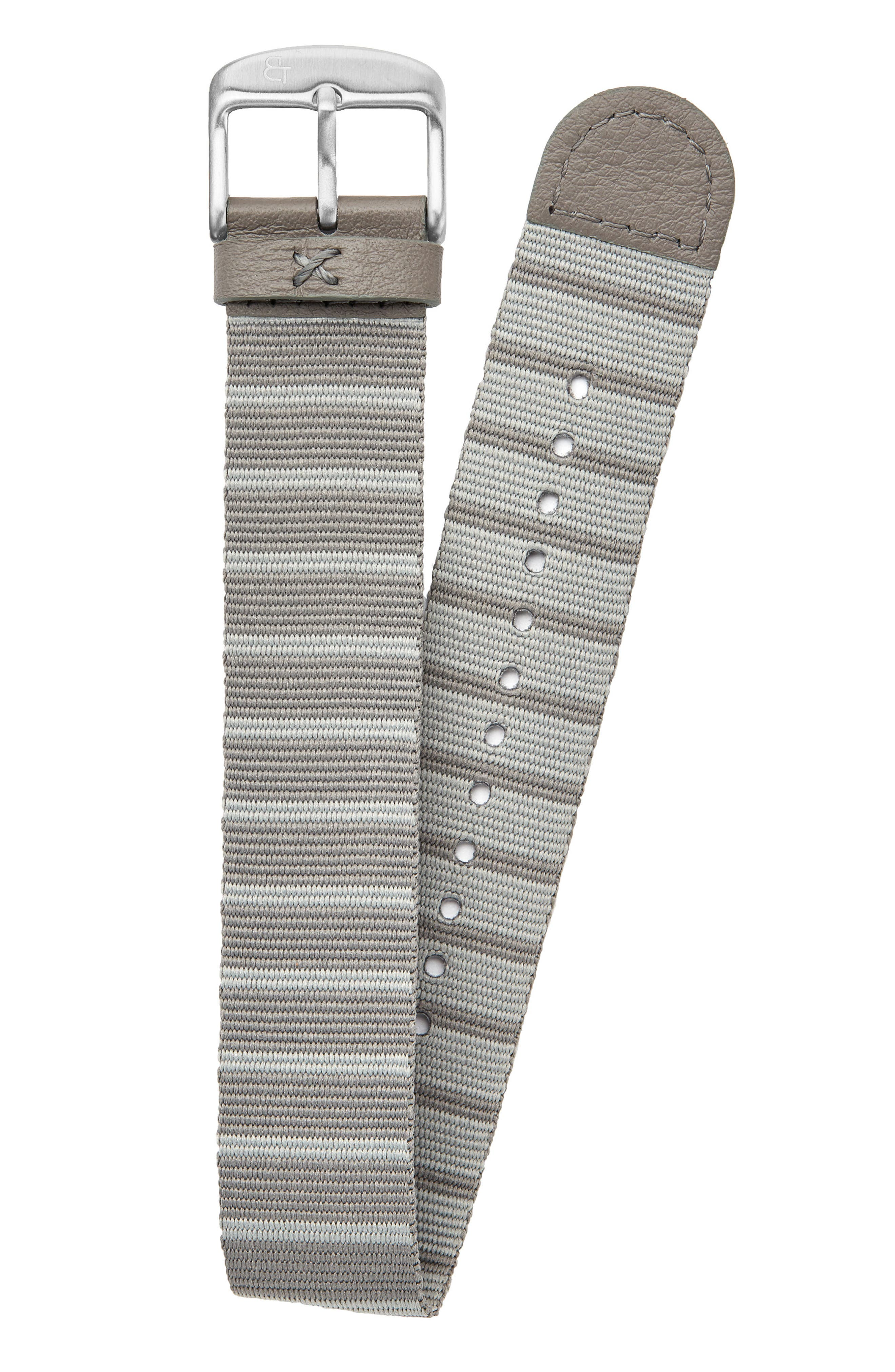 Alternate Image 1 Selected - Canton and Hall Nylon Watch Strap, 20mm