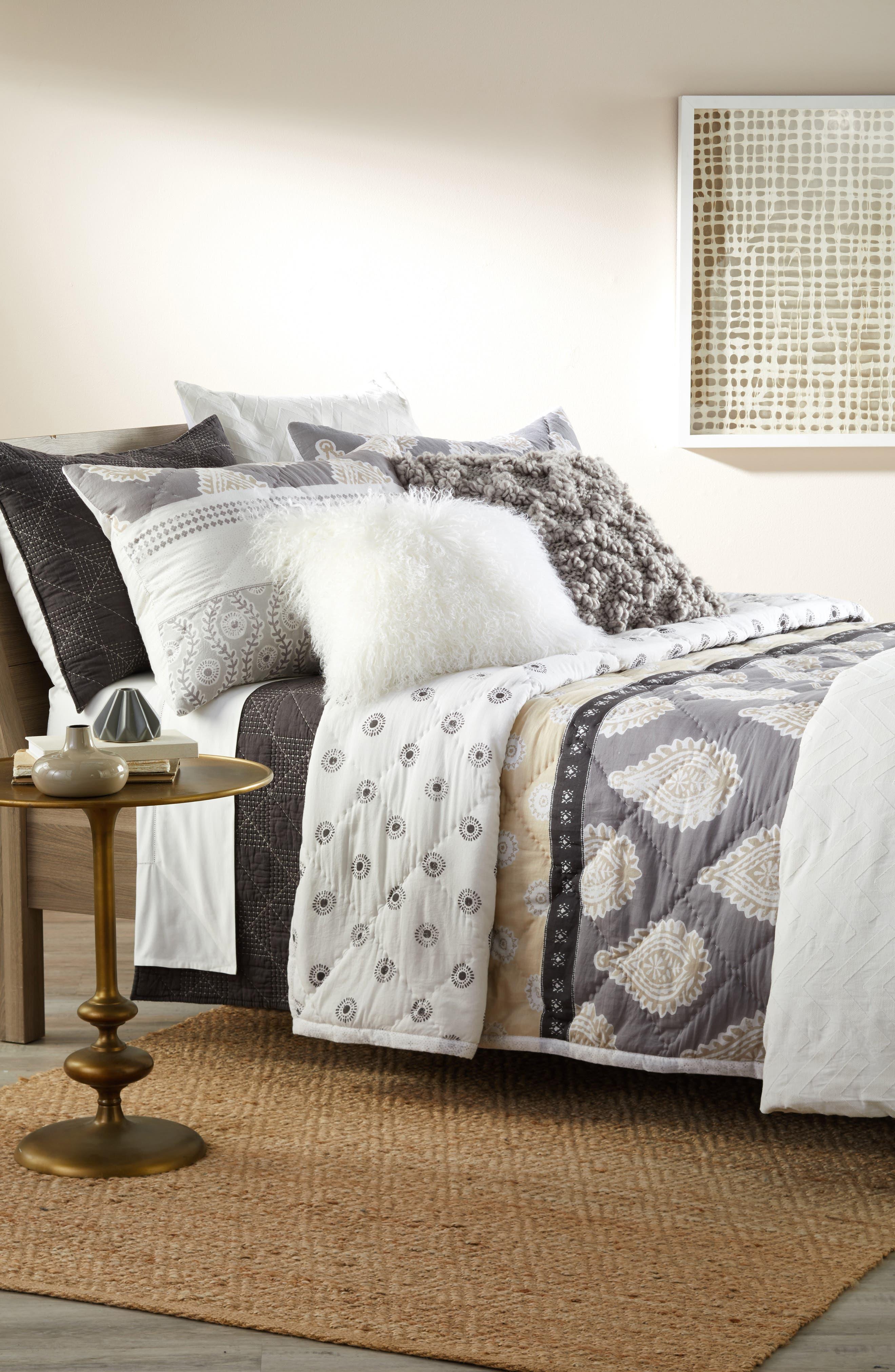 Nordstrom at Home Trellis Duvet & Block Print Comforter Bedding Collection