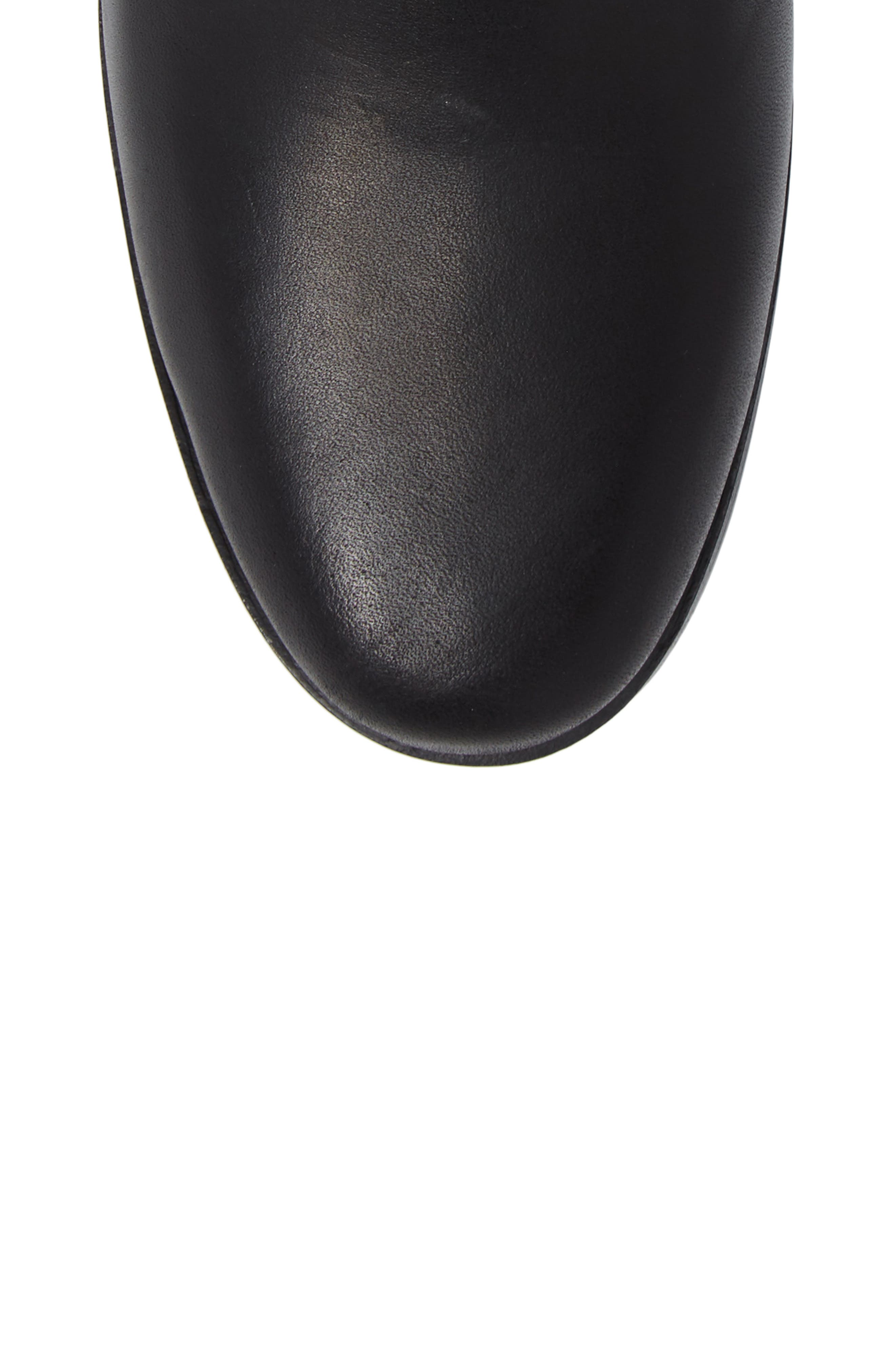 Somers Falls Water Resistant Chelsea Boot,                             Alternate thumbnail 4, color,                             Jet Black Swank Leather