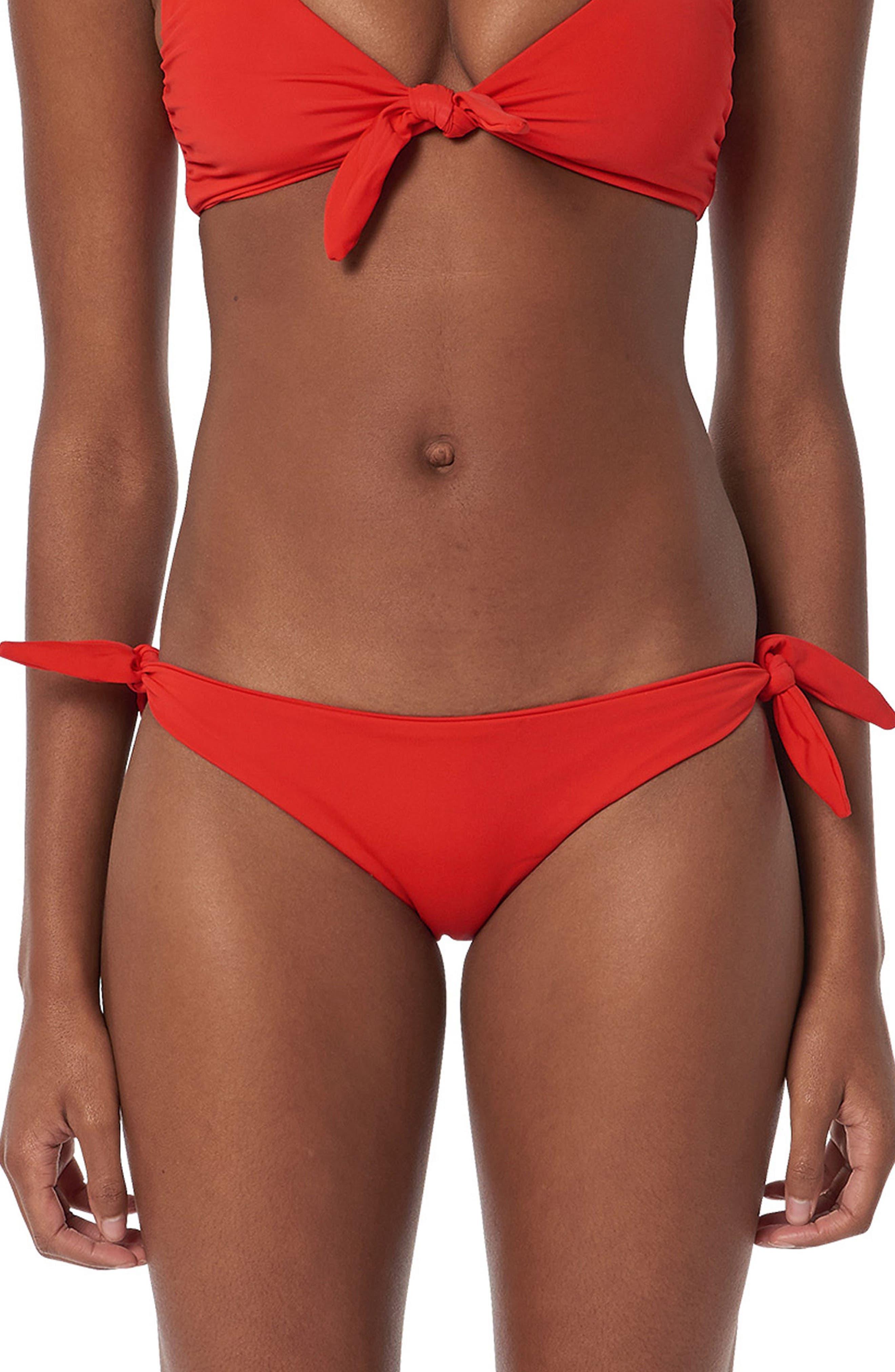 Sita Bikini Bottoms,                             Main thumbnail 1, color,                             Red