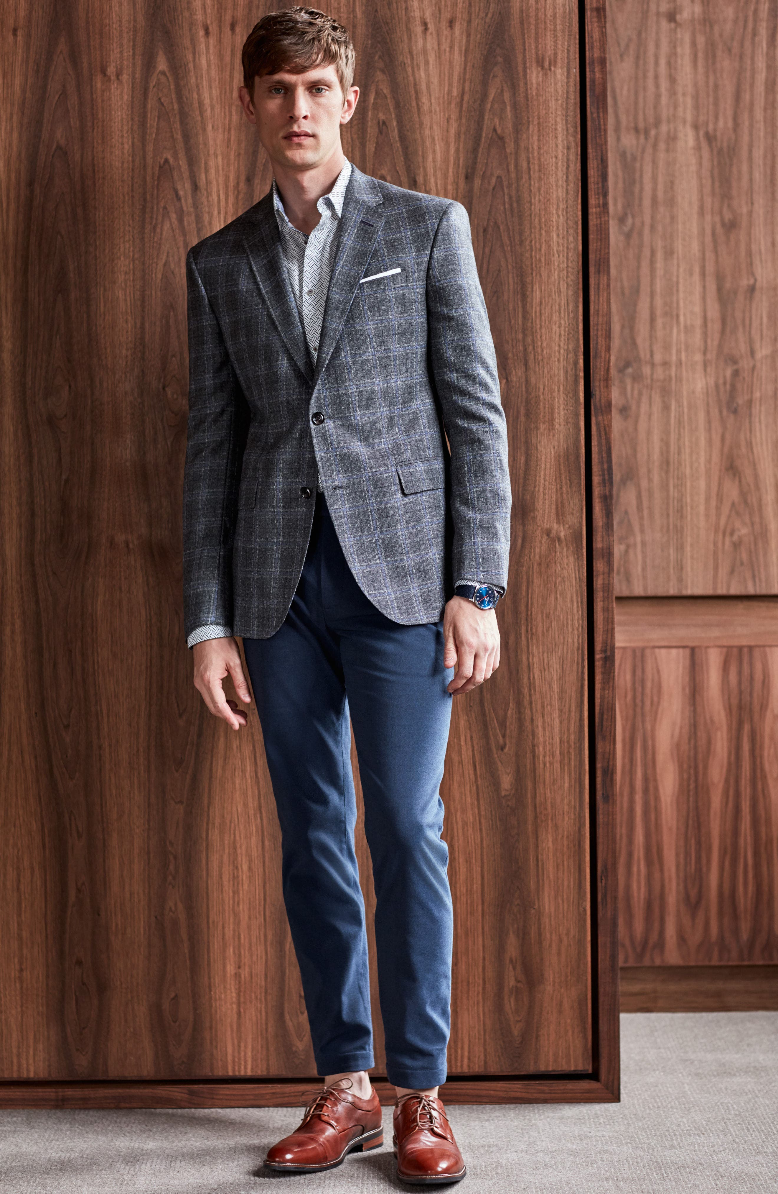 Alternate Image 8  - Ted Baker London Volvek Classic Fit Trousers