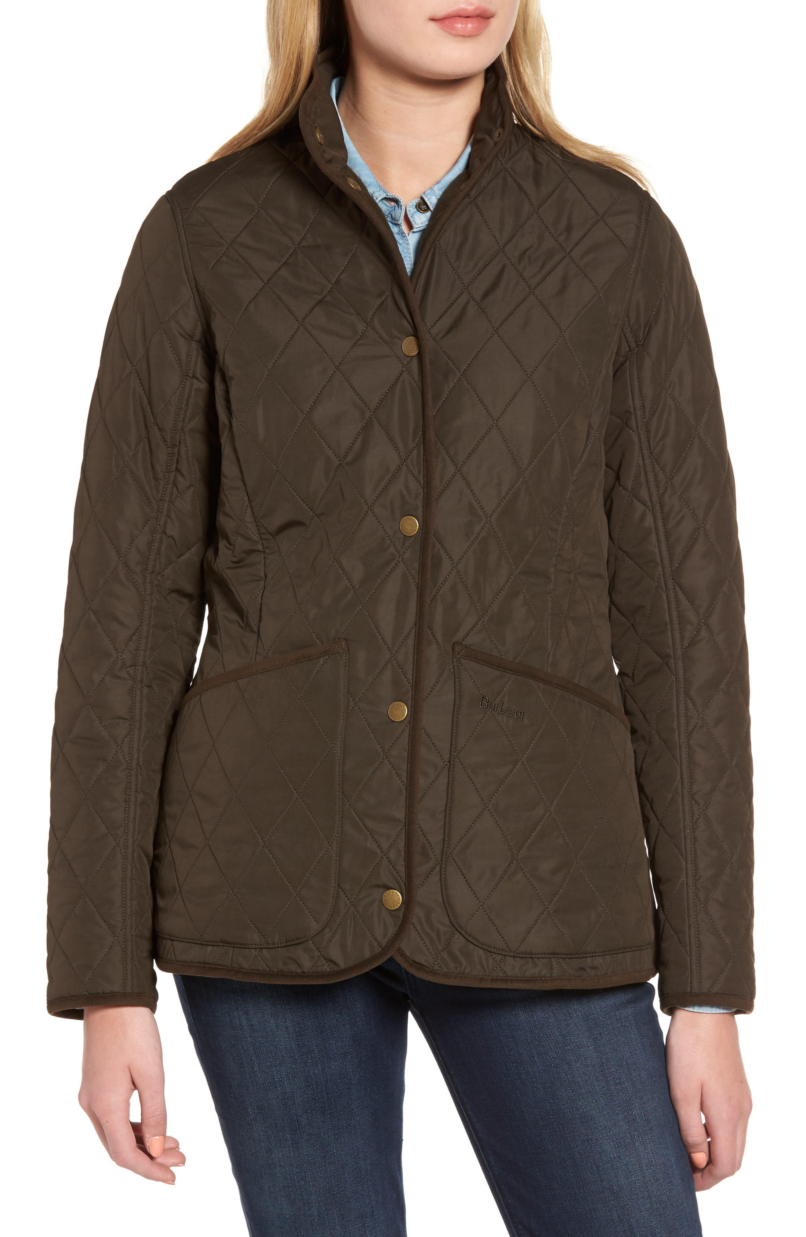 Combe Polarquilt Jacket,                             Alternate thumbnail 4, color,                             Olive
