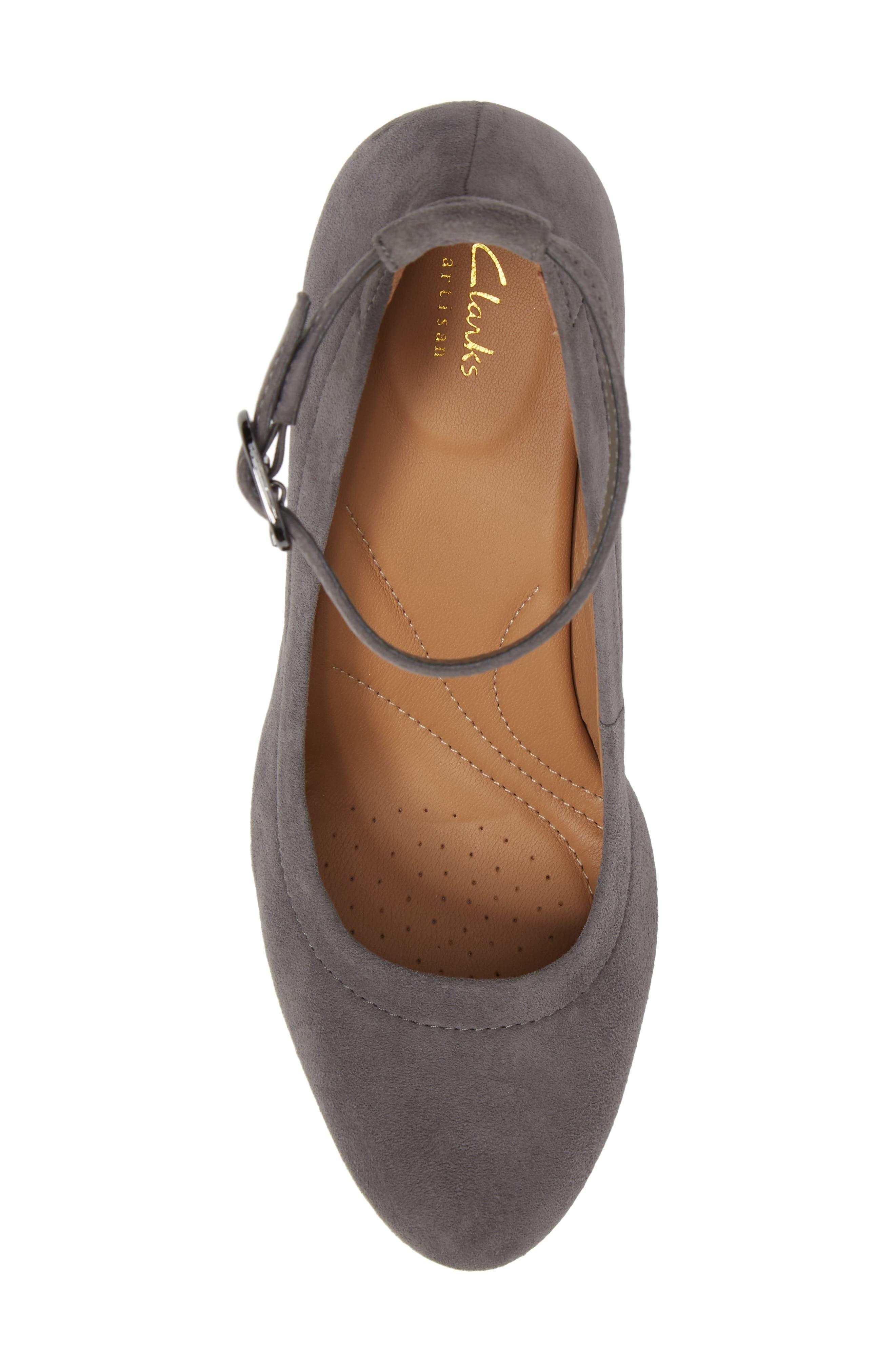 Alternate Image 5  - Clarks® Chryssa Jana Ankle Strap Pump (Women)