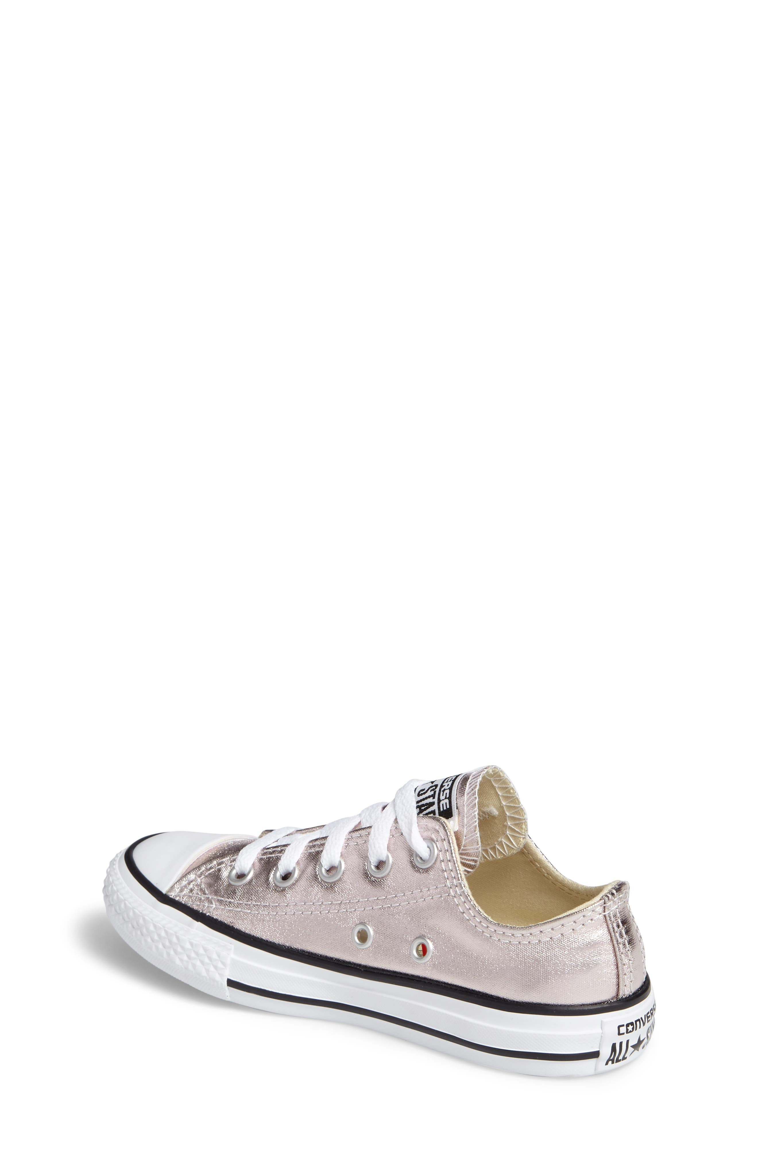 Alternate Image 2  - Converse Chuck Taylor® All Star® Ox Metallic Low Top Sneaker (Toddler & Little Kid)