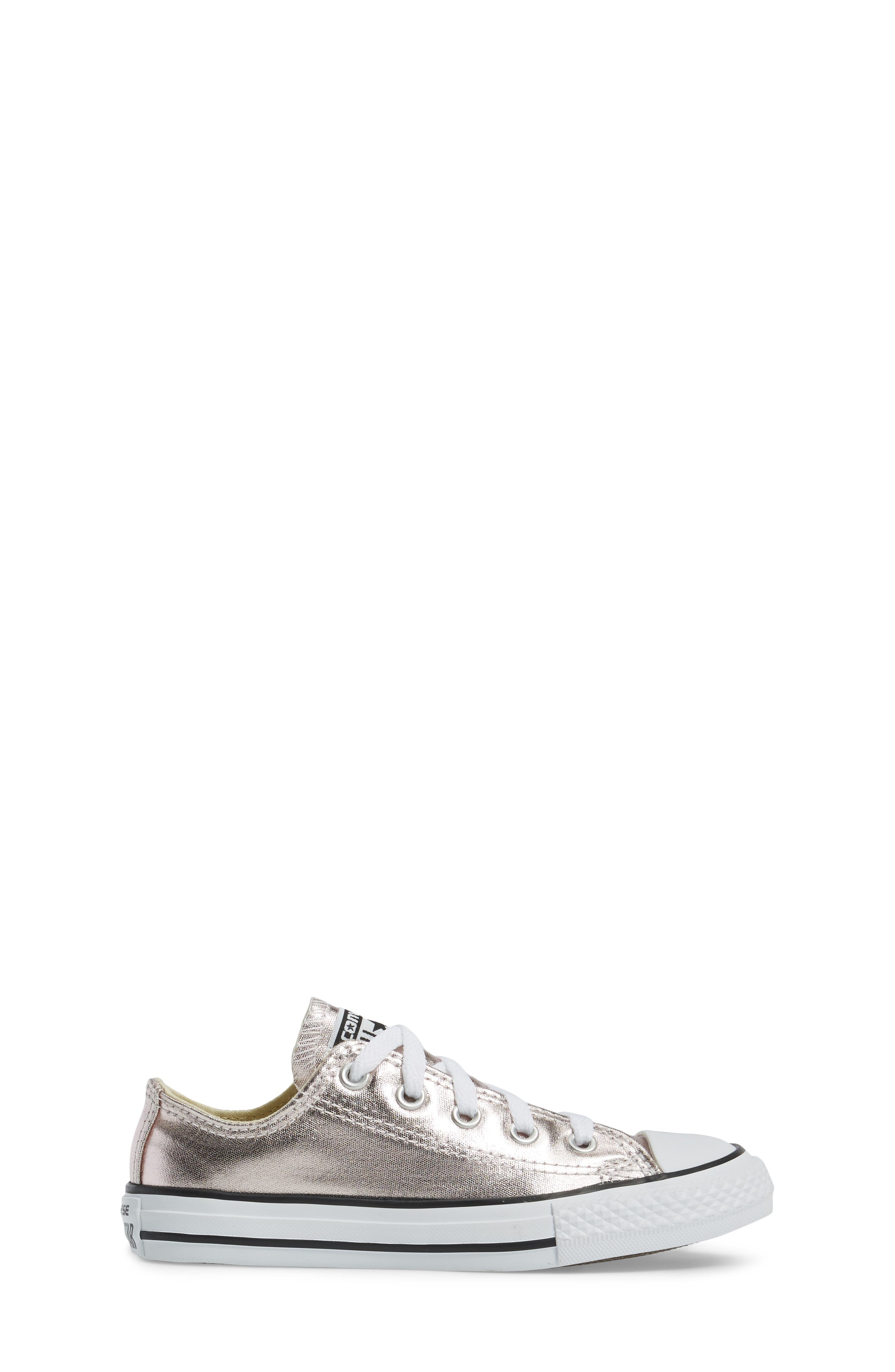 Alternate Image 3  - Converse Chuck Taylor® All Star® Ox Metallic Low Top Sneaker (Toddler & Little Kid)