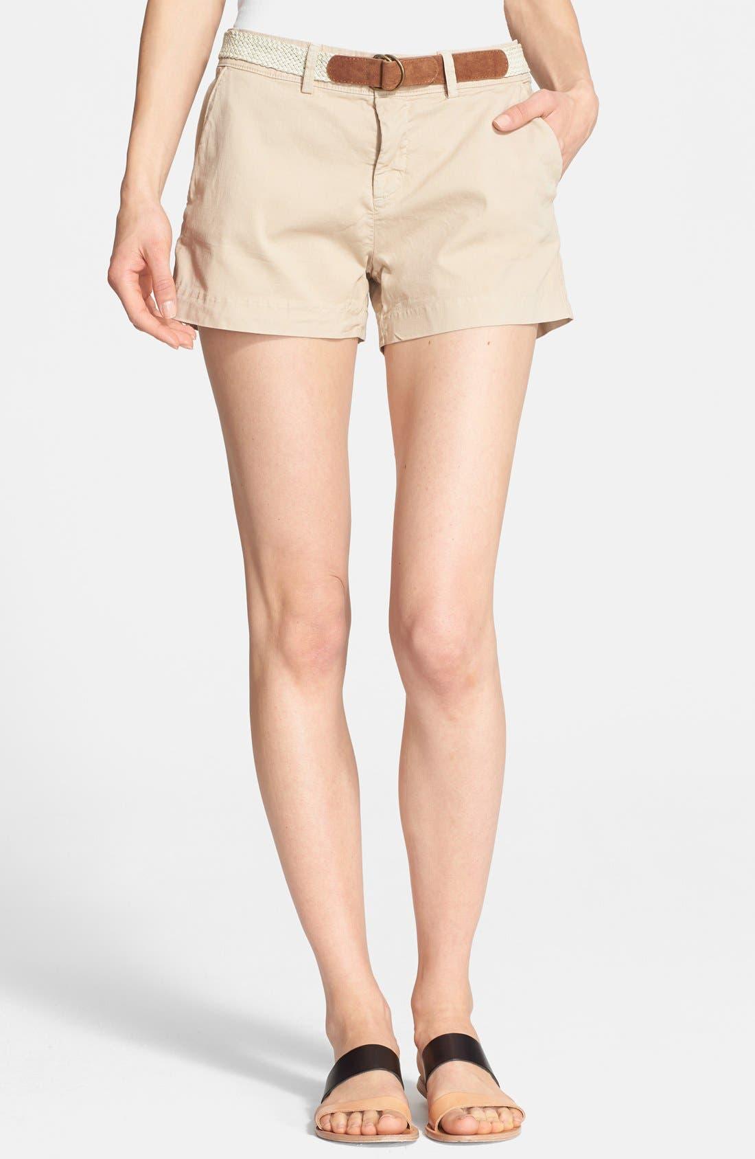 Main Image - Joie 'Jardin' Belted Chino Shorts