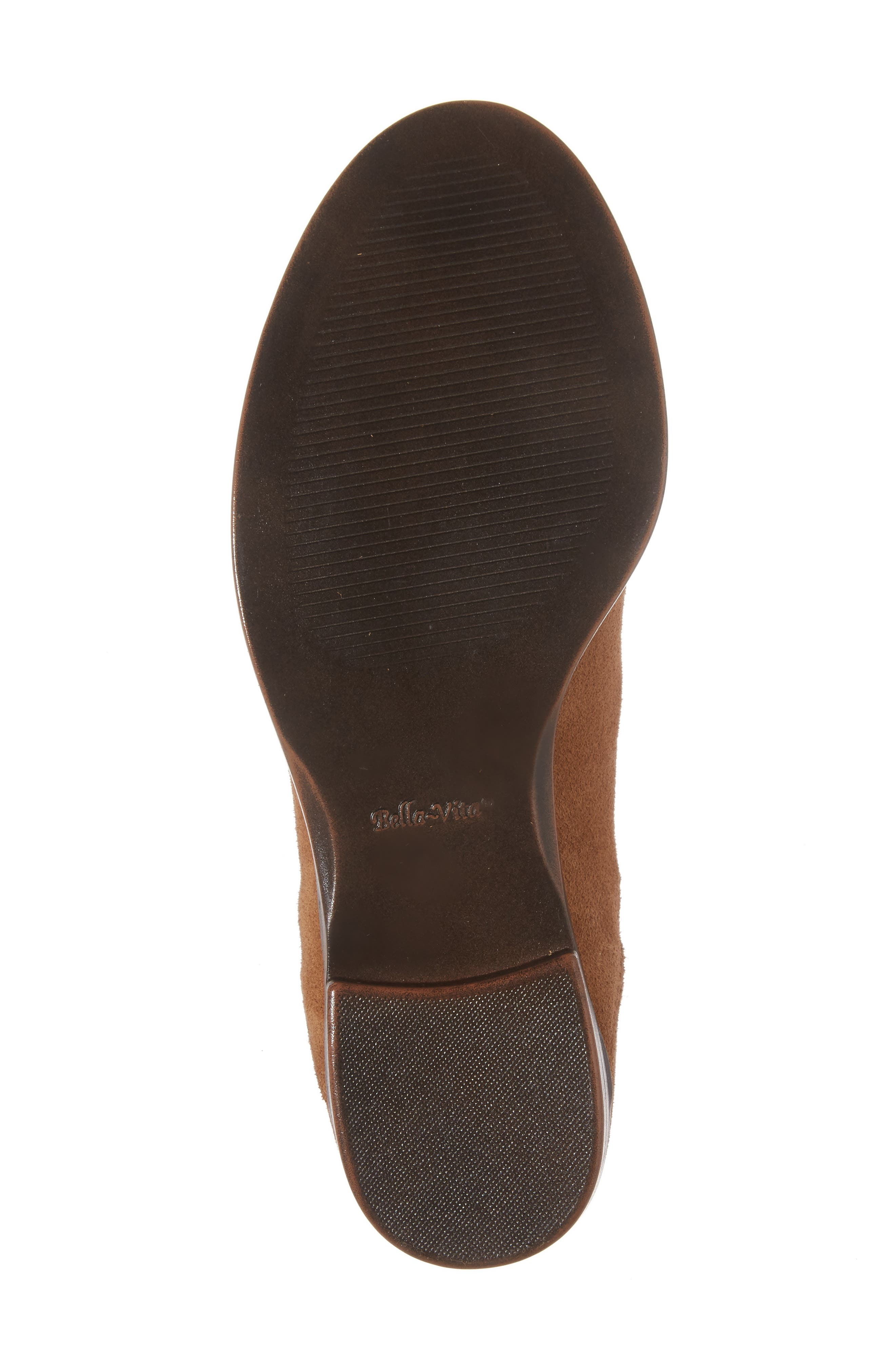 Rayna Chelsea Boot,                             Alternate thumbnail 5, color,                             Tan Suede