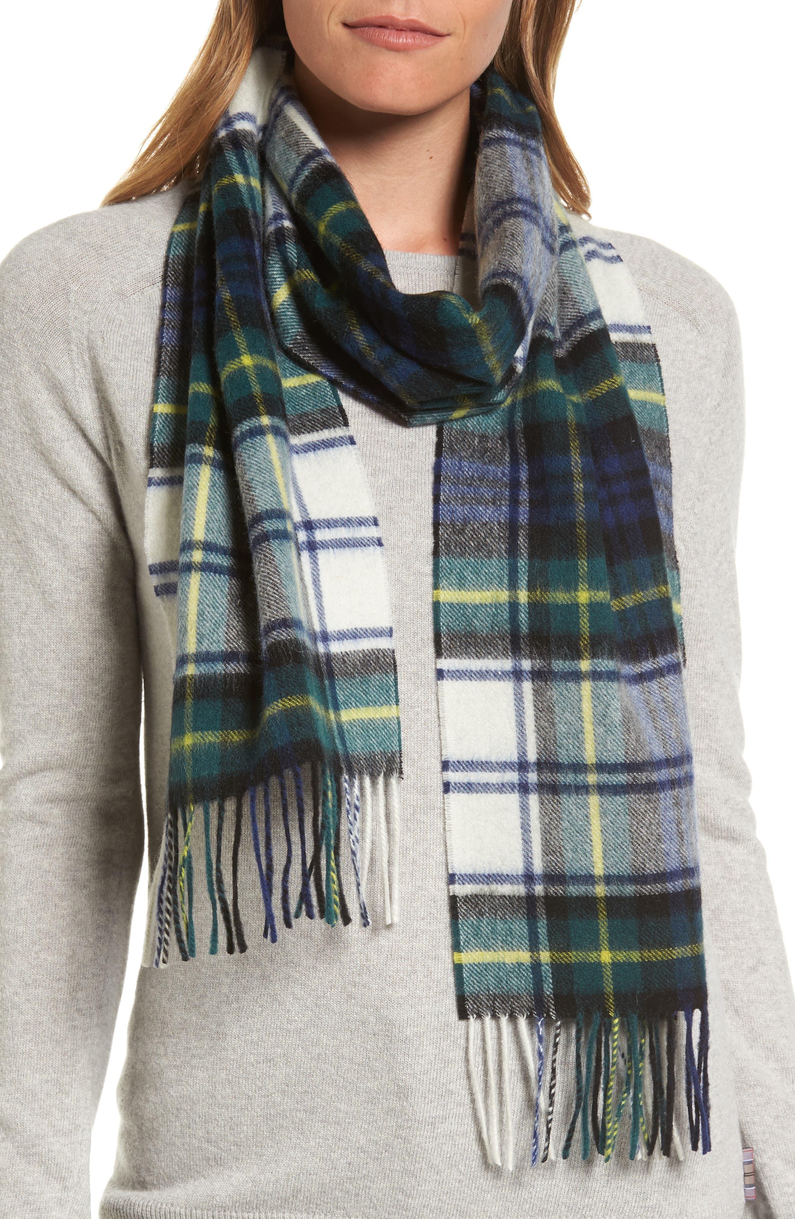 Main Image - Barbour 'Shilhope' Plaid Wool Scarf