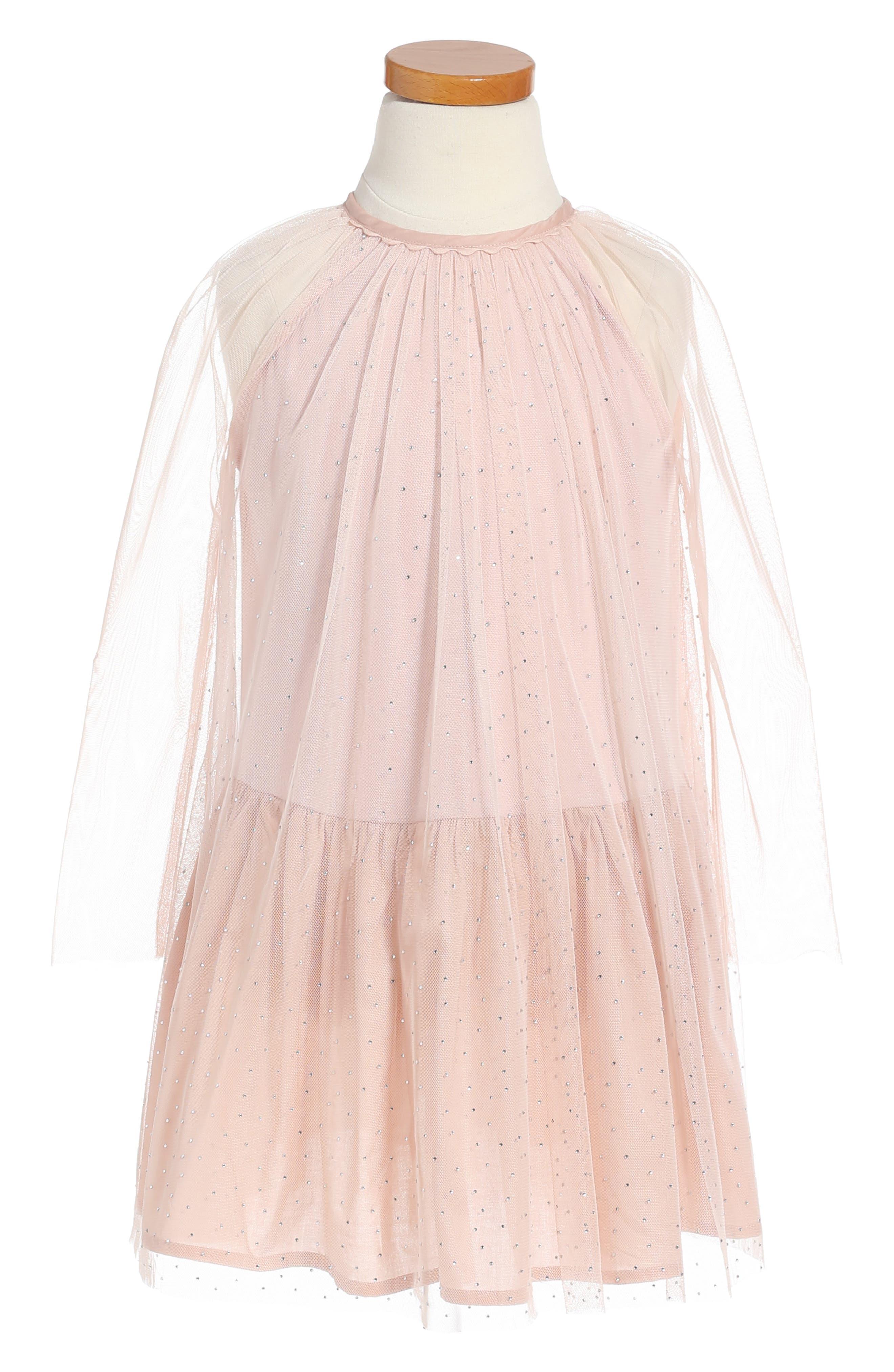 Stella McCartney Kids Misty Sparkle Tulle Dress (Little Girls & Big Girls)