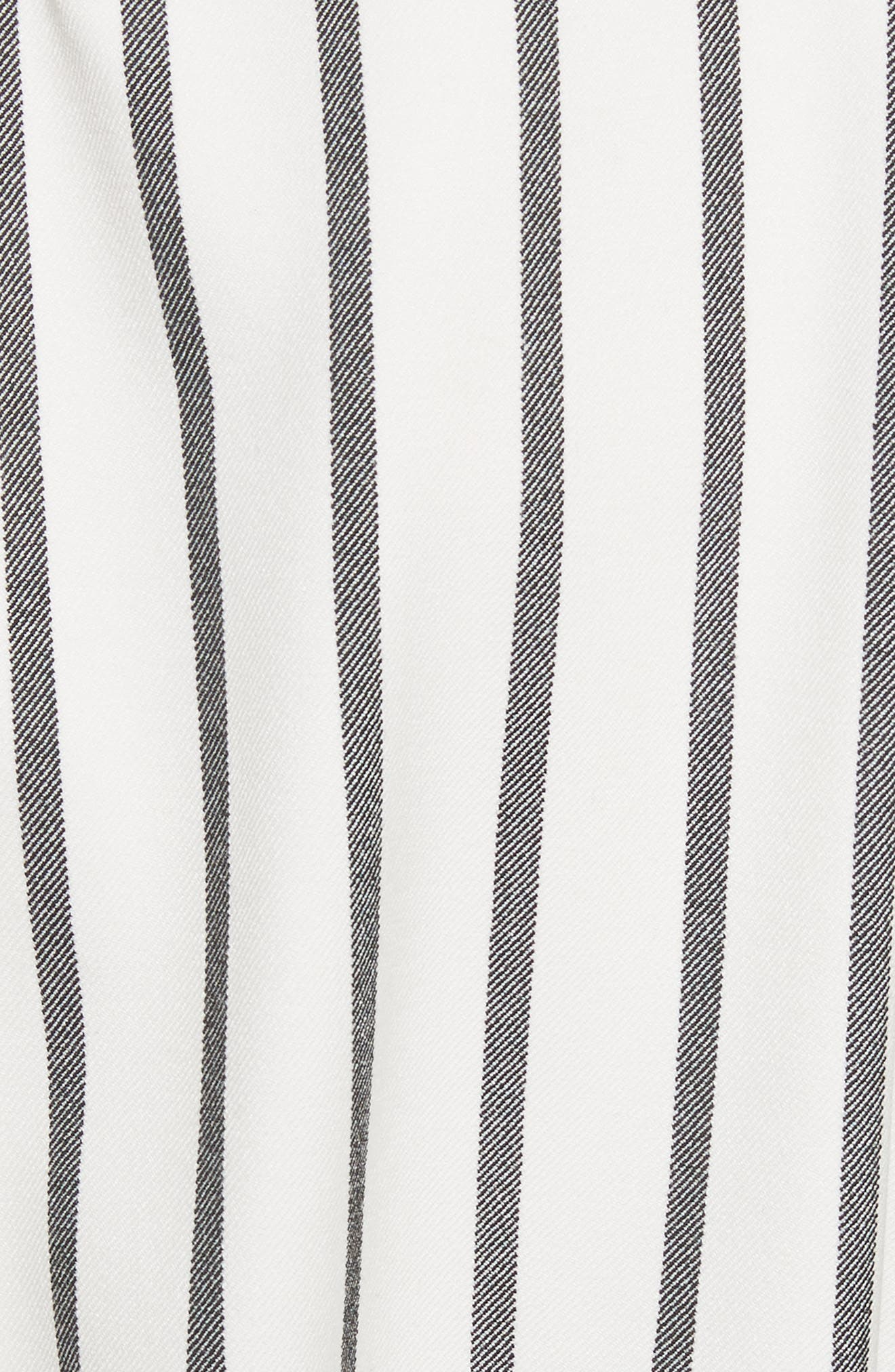 Alternate Image 5  - Tibi Lucci Stripe Sculpted Top