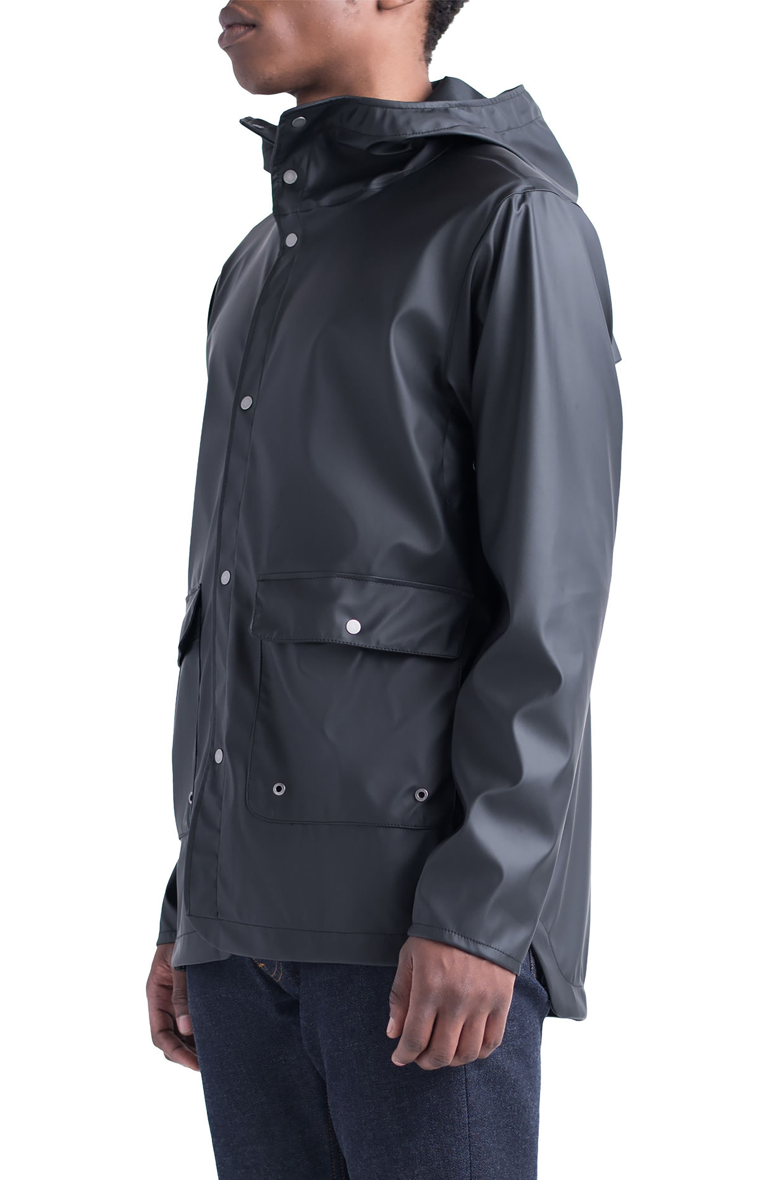 Forecast Parka,                             Alternate thumbnail 3, color,                             Black