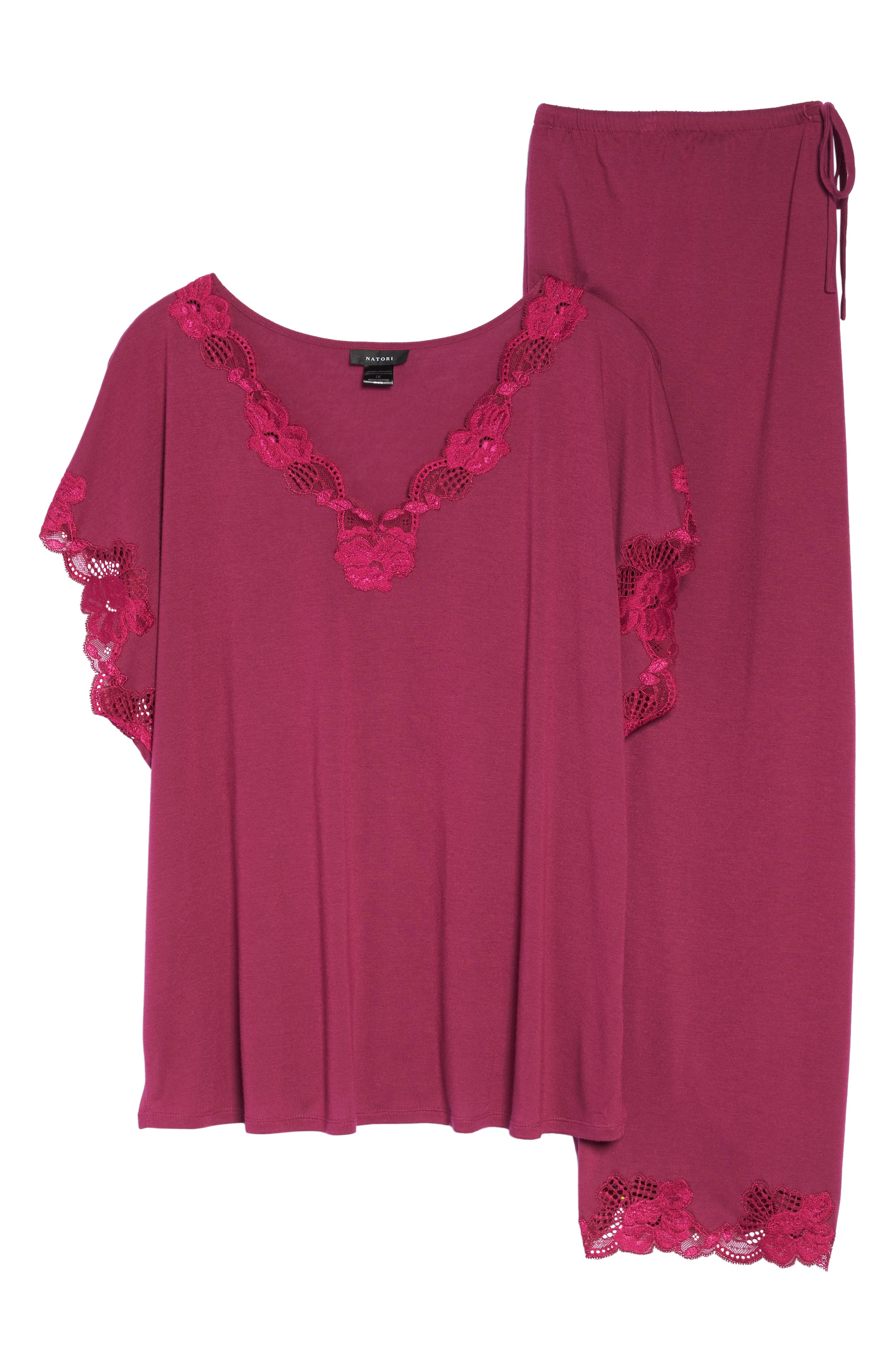 Alternate Image 4  - Natori 'Zen Floral' Pajamas (Plus Size)