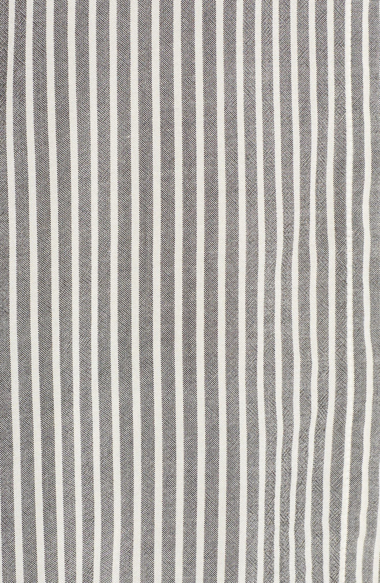 Stripe Top,                             Alternate thumbnail 8, color,                             Grey Stripe