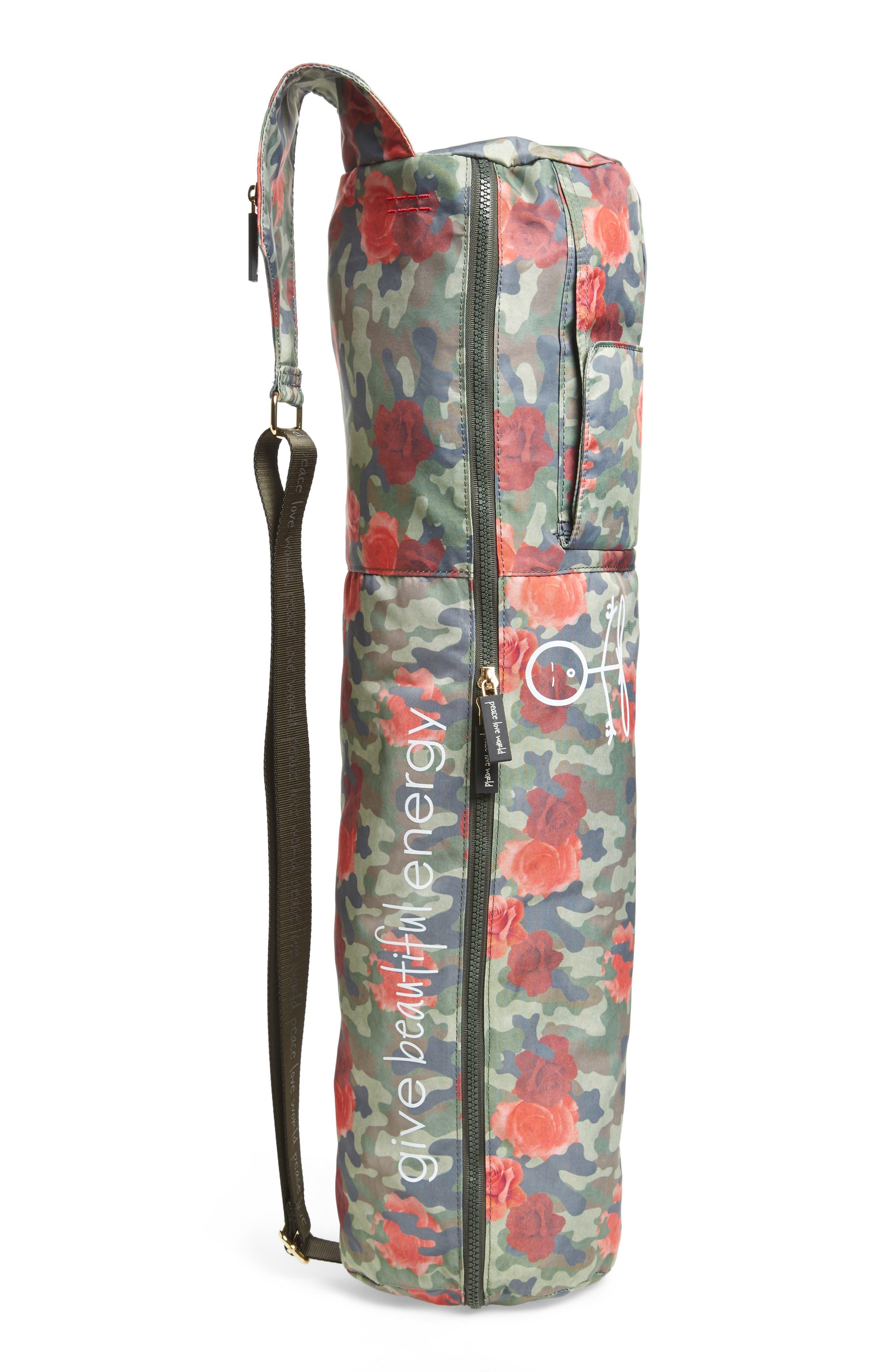 Alternate Image 2  - Peace Love World Nylon Yoga Bag