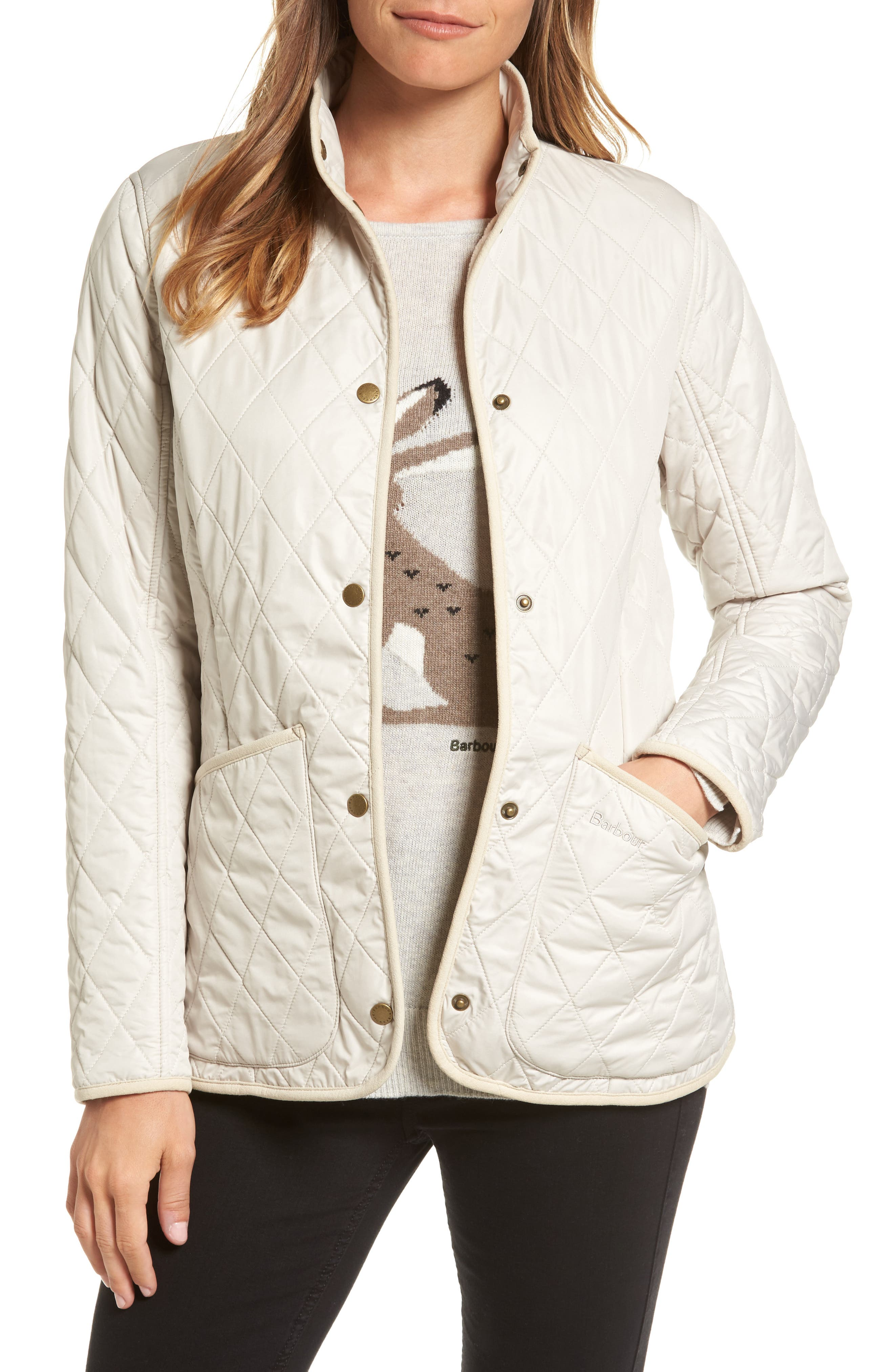Alternate Image 1 Selected - Barbour Combe Polarquilt Jacket