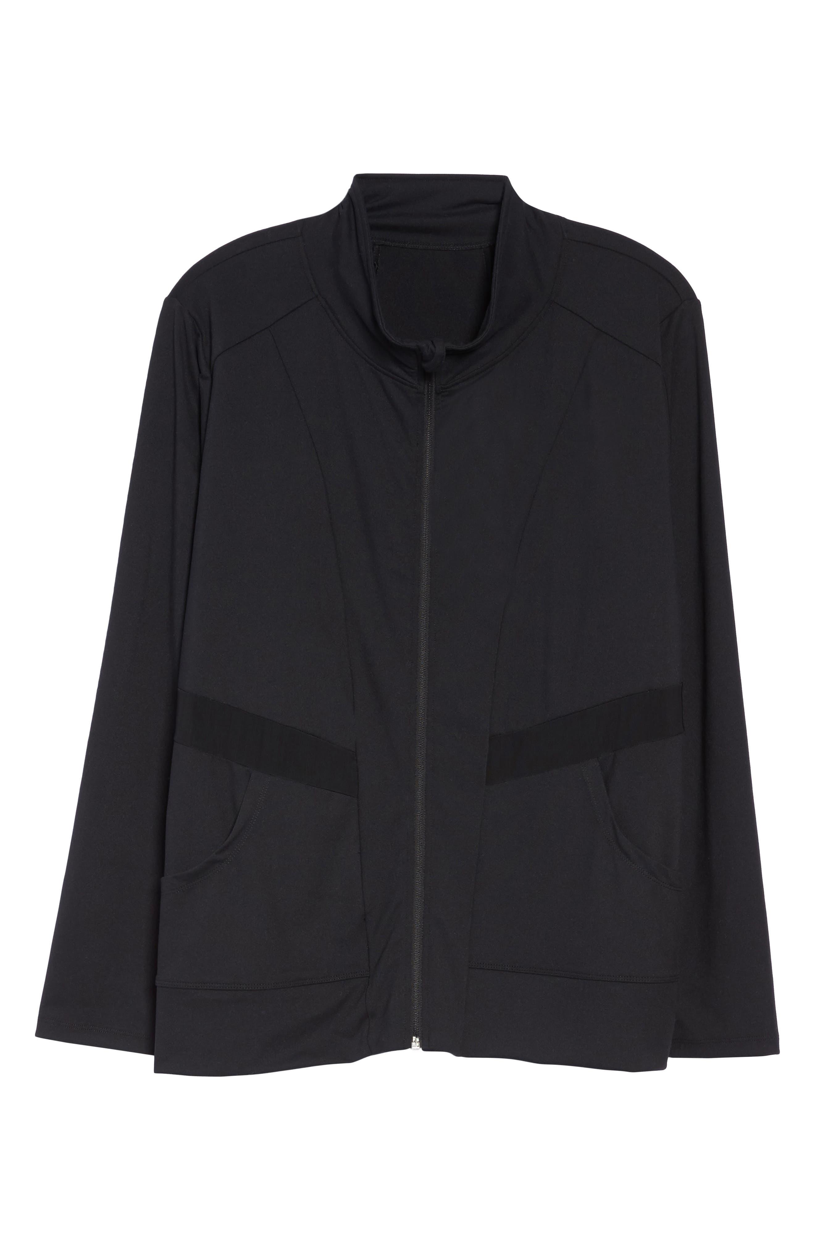 Alternate Image 6  - Marika Curves Adrenaline Jacket (Plus Size)