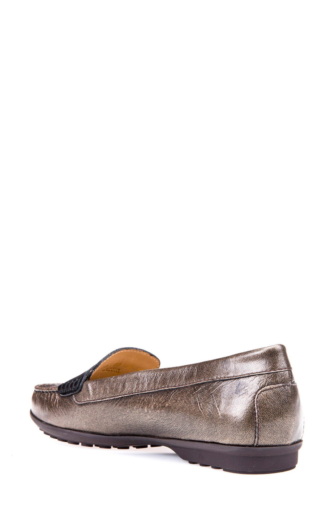 Alternate Image 2  - Geox Elidia 5 Penny Loafer (Women)