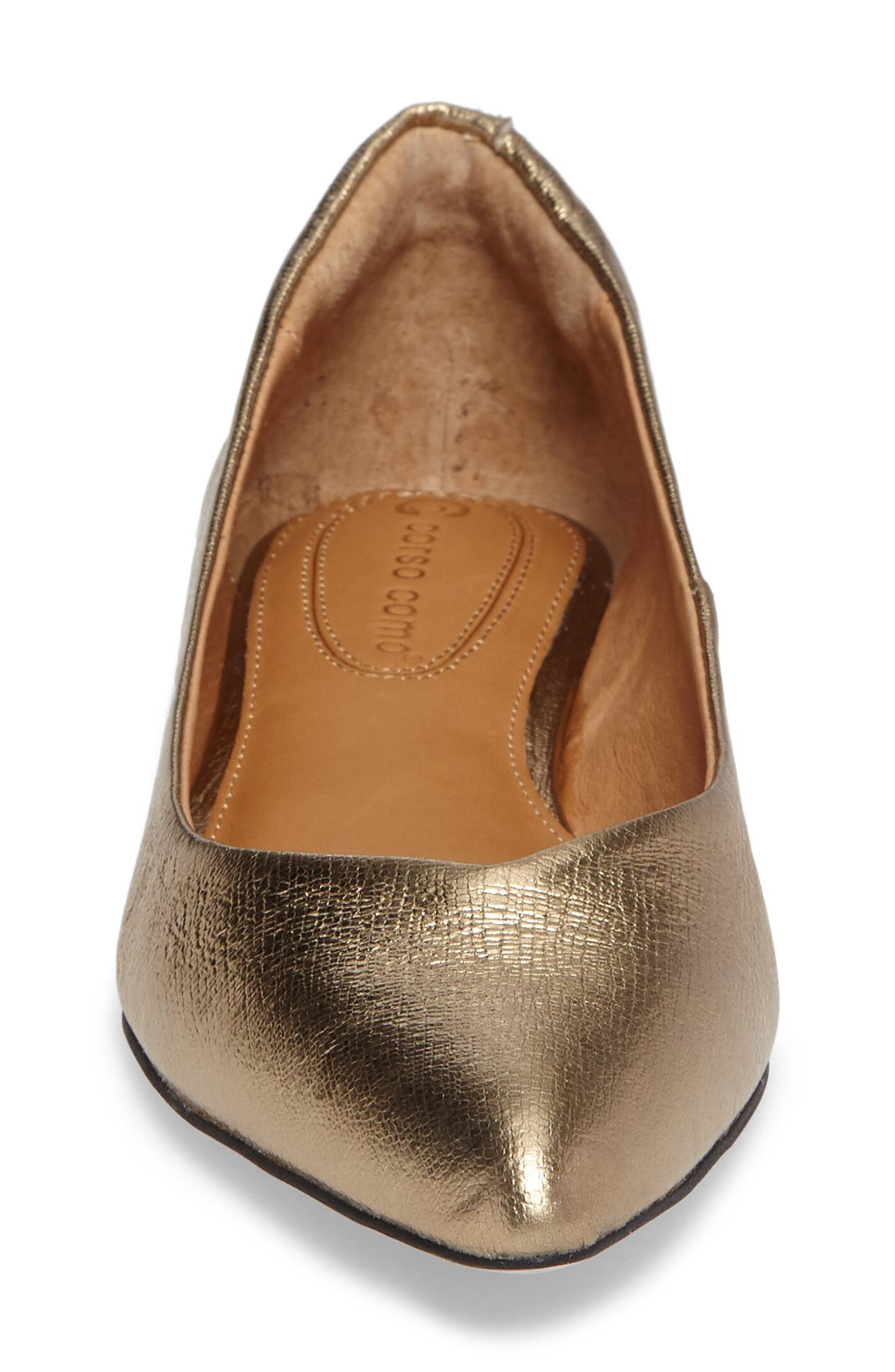 Alternate Image 4  - Corso Como Julia Pointy Toe Flat (Women)