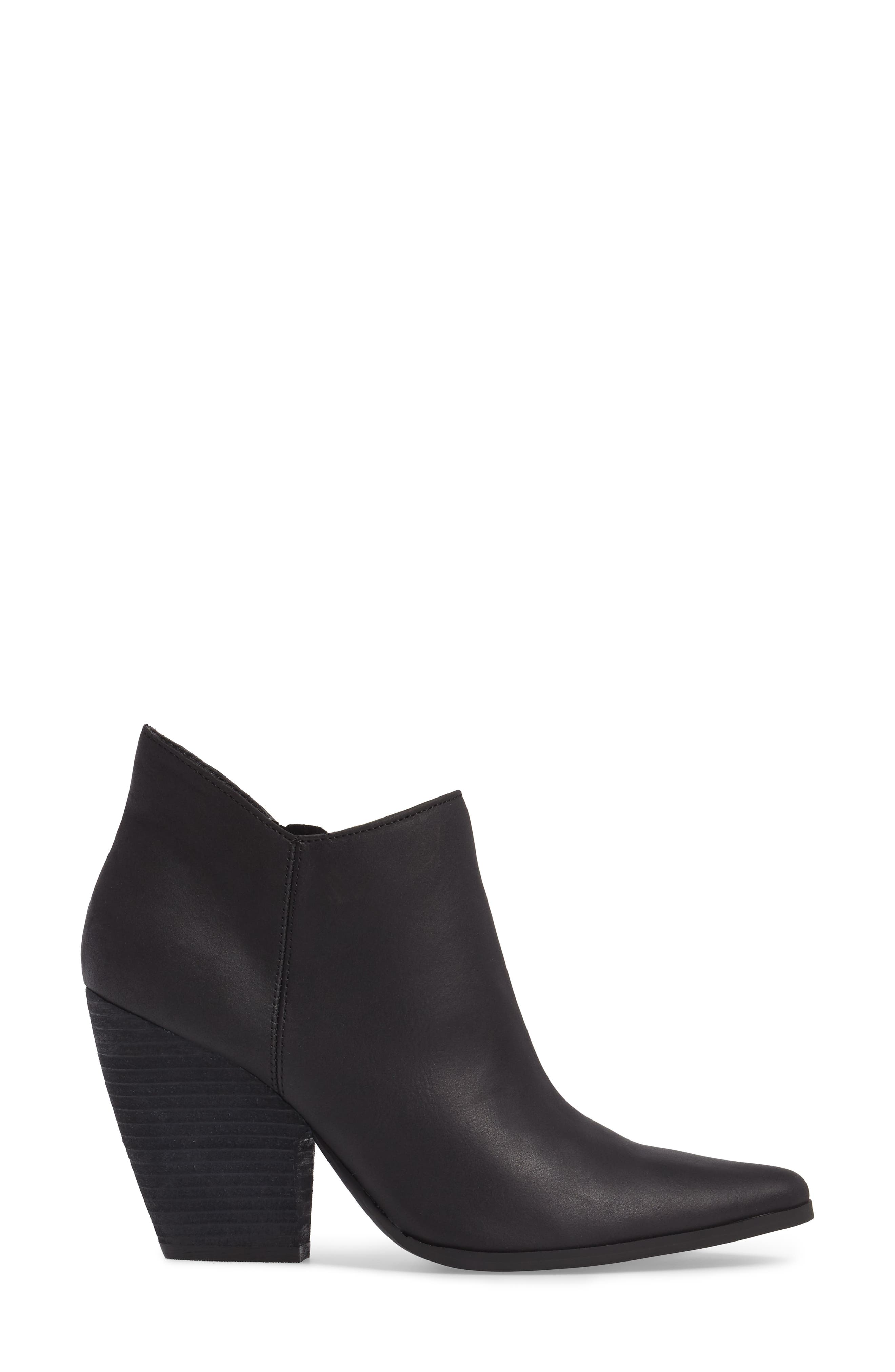 Natasha Bootie,                             Alternate thumbnail 3, color,                             Black