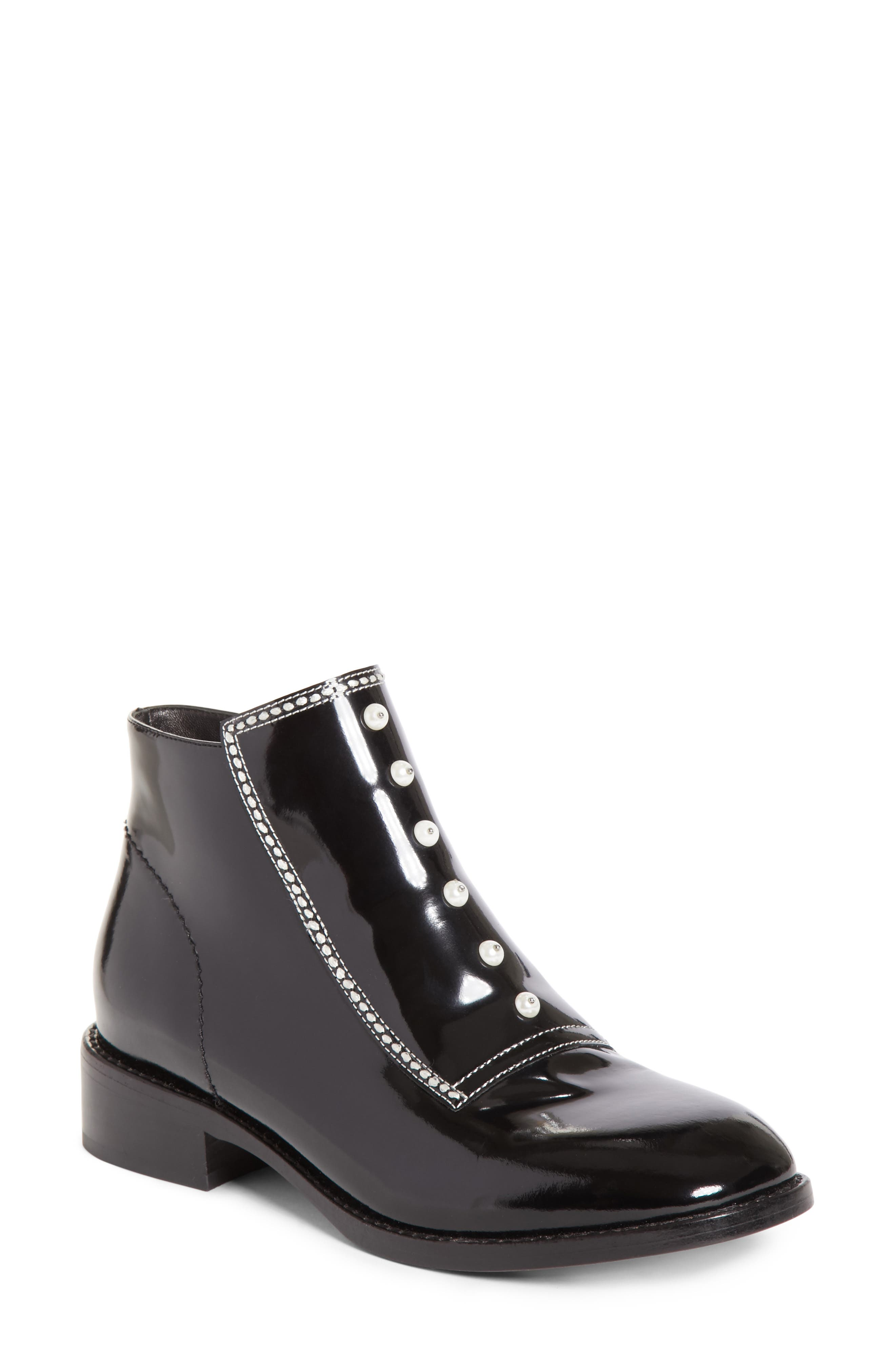 Opening Ceremony Ryder Imitation Pearl Bootie (Women)