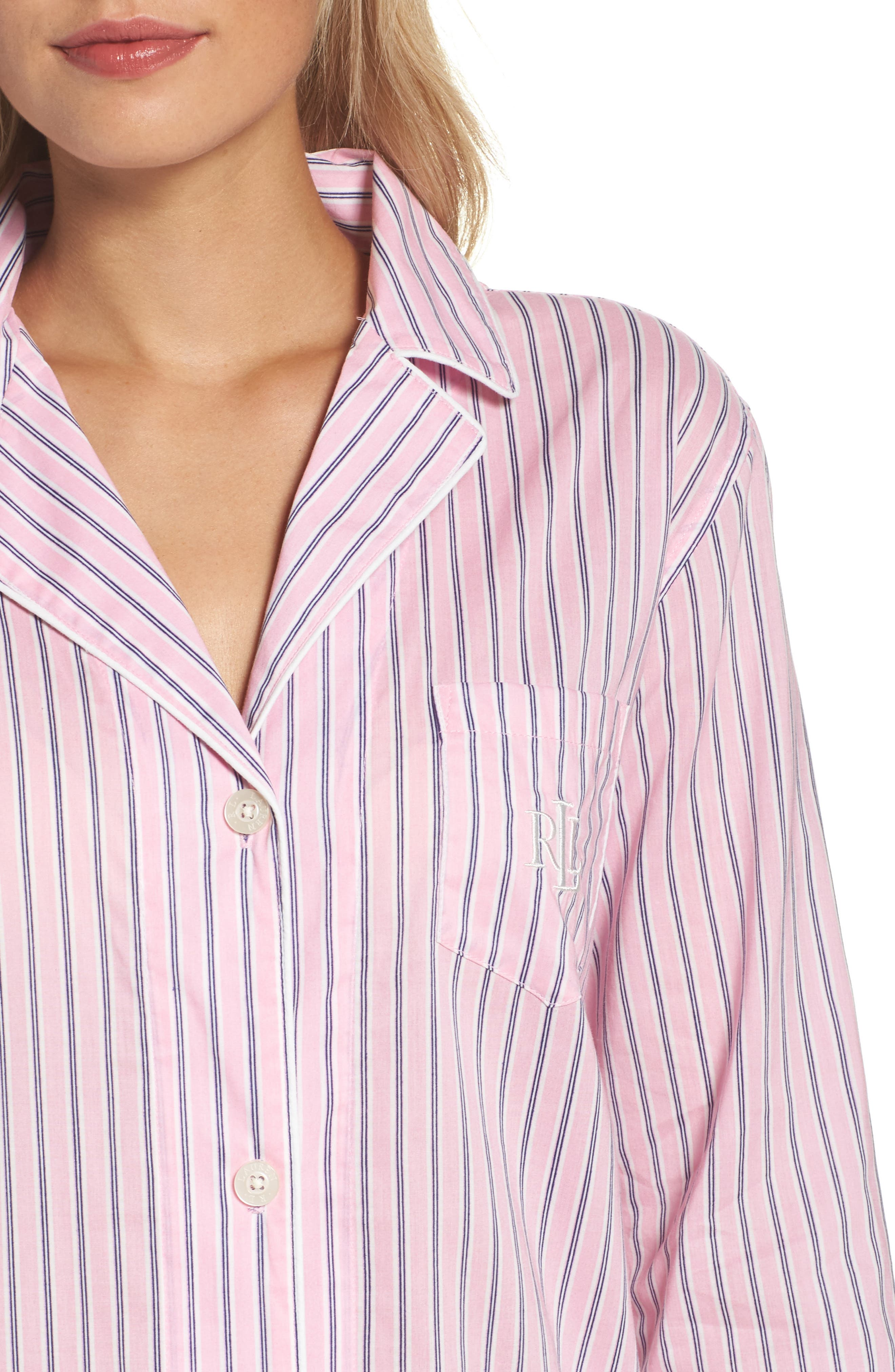Alternate Image 4  - Lauren Ralph Lauren Sleep Shirt
