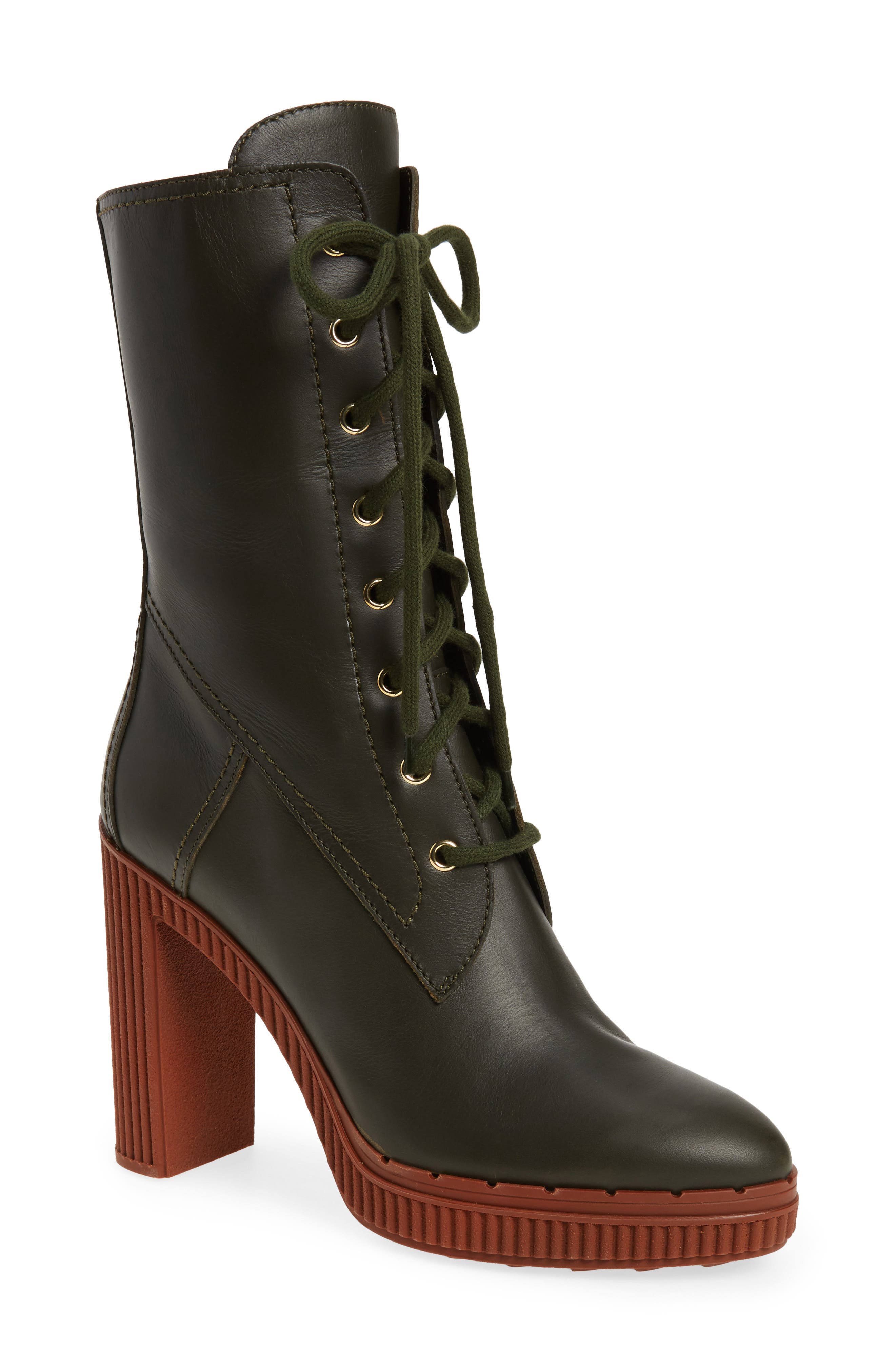 Tod's Lace-Up Boot (Women)
