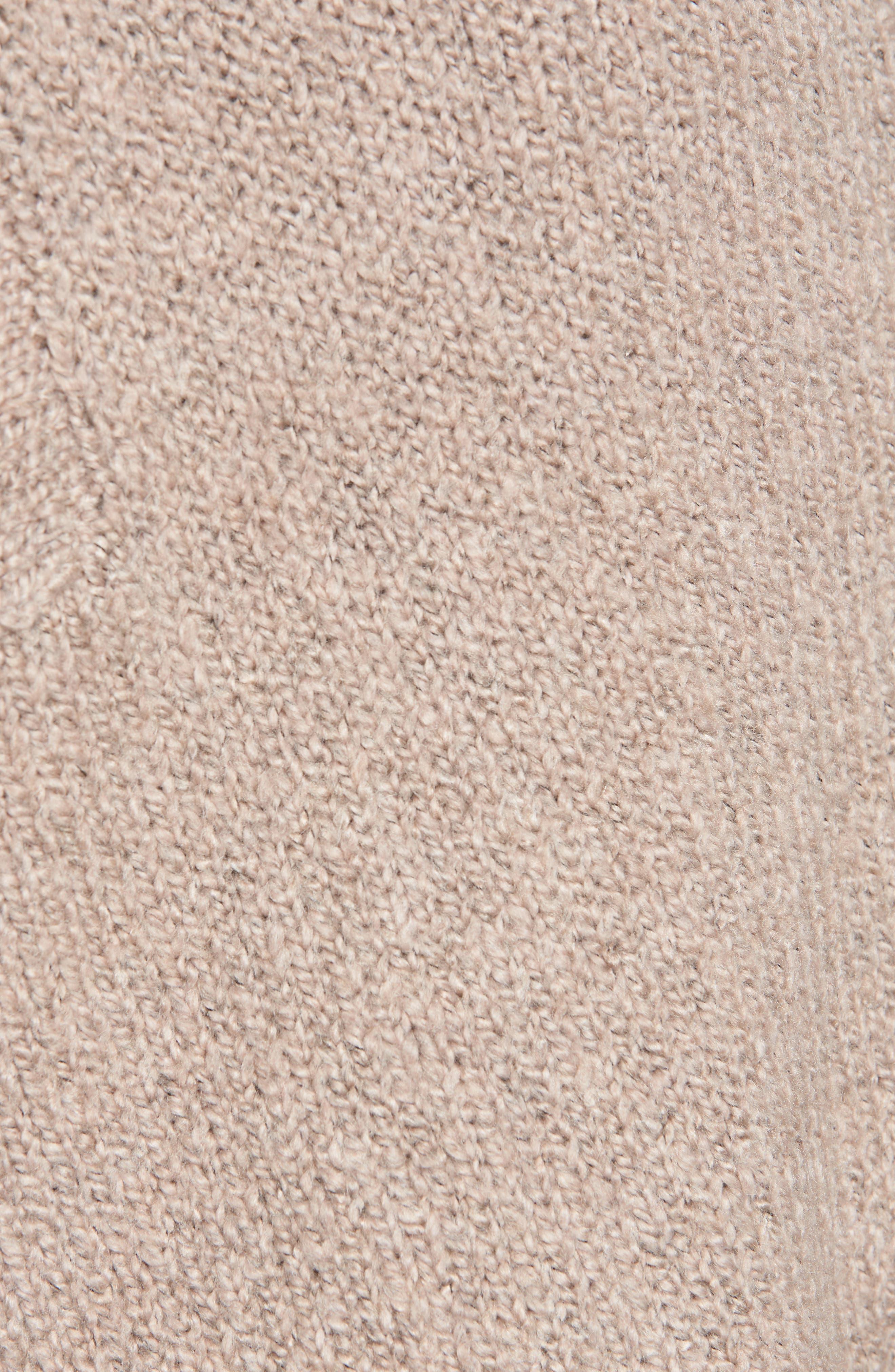 Alternate Image 5  - Leith Fuzzy Side Slit Sweater