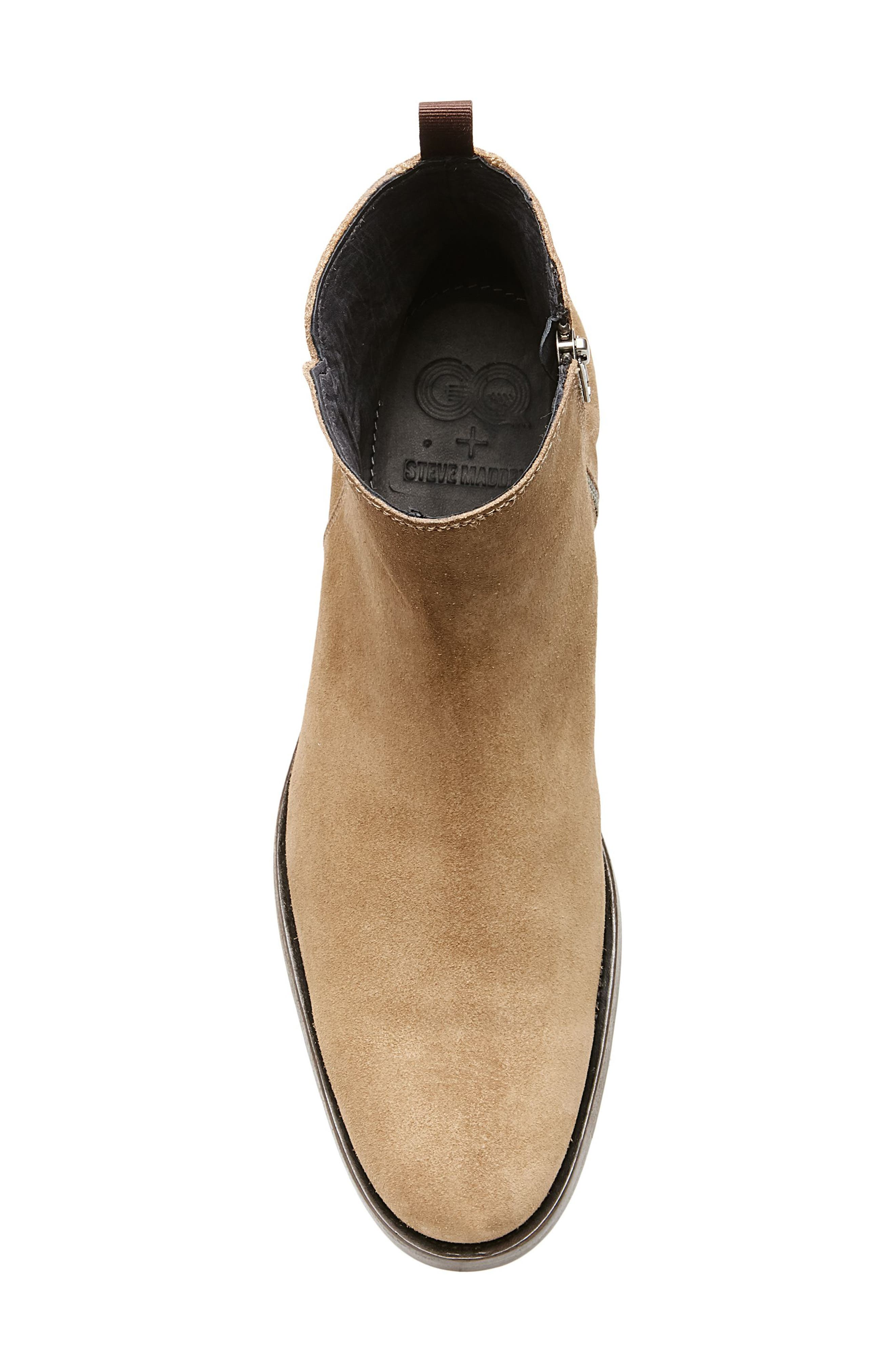 Alternate Image 5  - Steve Madden x GQ Fred Zip Boot (Men)