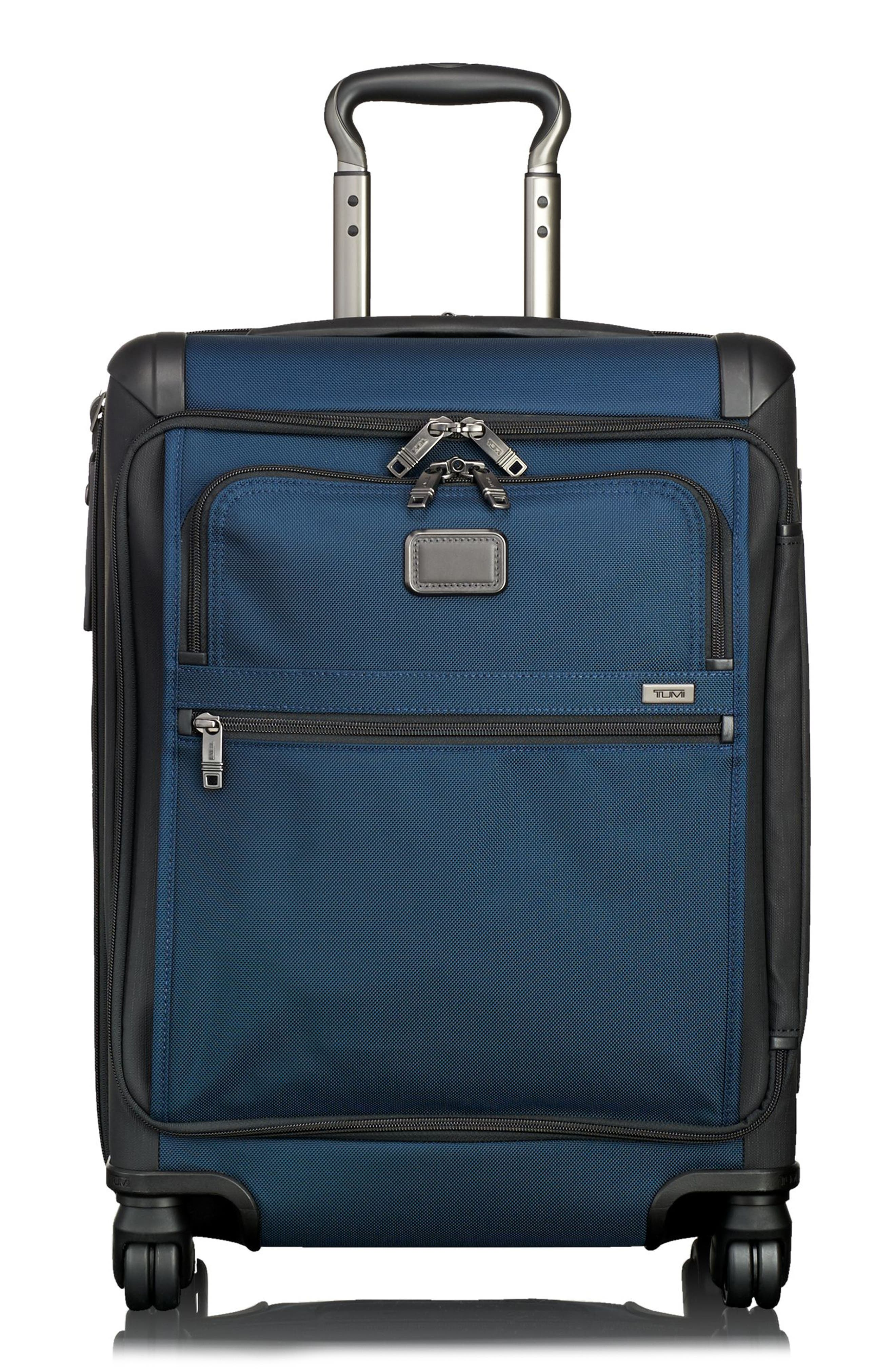 Alpha 2 22-Inch Continental Carry-On,                             Main thumbnail 1, color,                             Navy/ Black