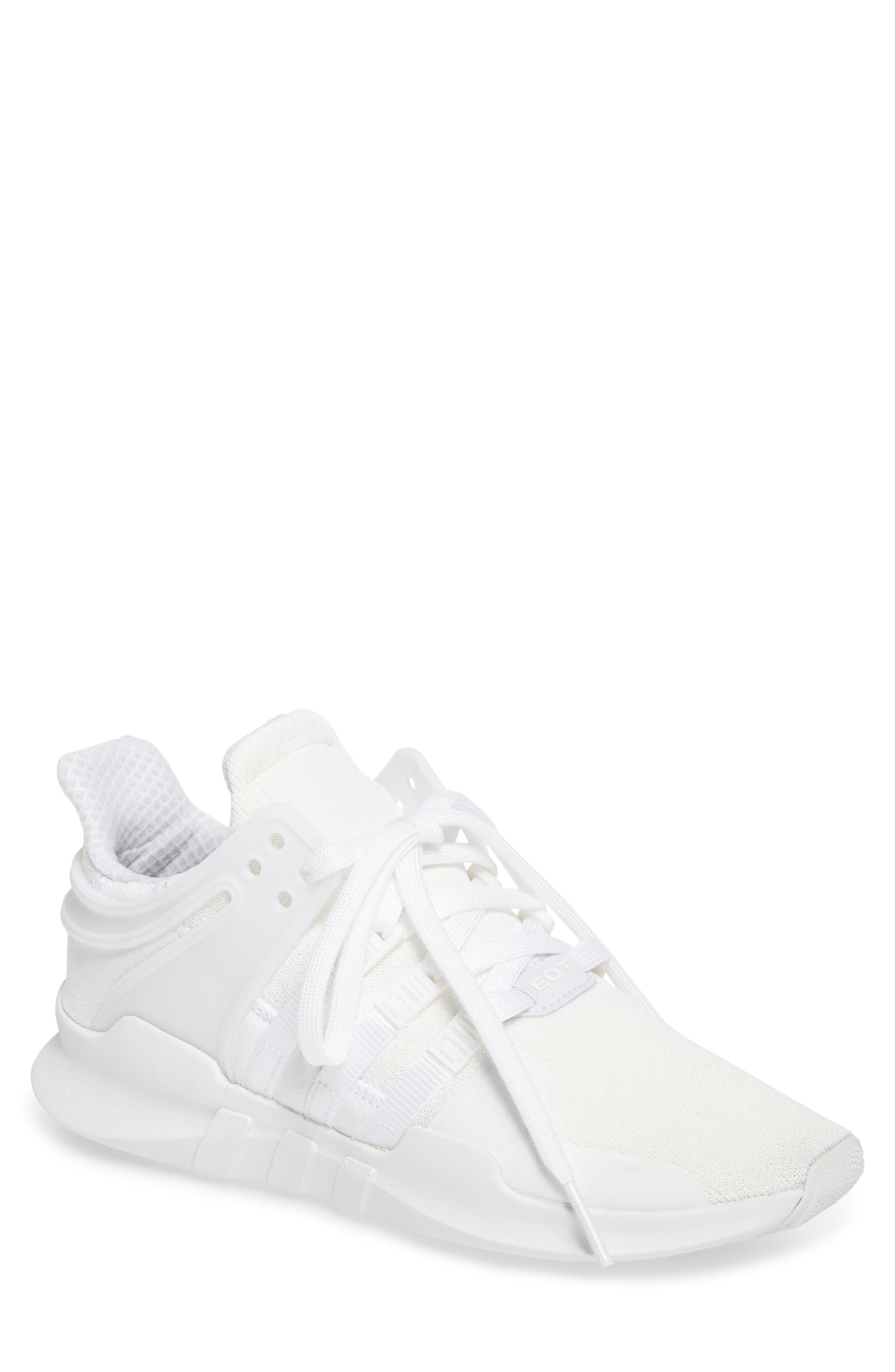 EQT Support Adv Sneaker,                             Main thumbnail 1, color,                             White/Core Black