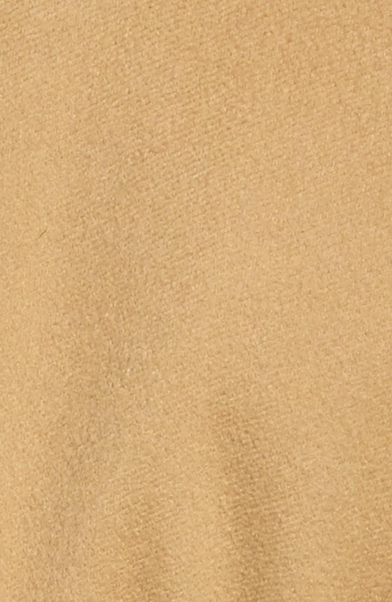 Alternate Image 5  - Fleurette Shawl Collar Cashmere Wrap Coat