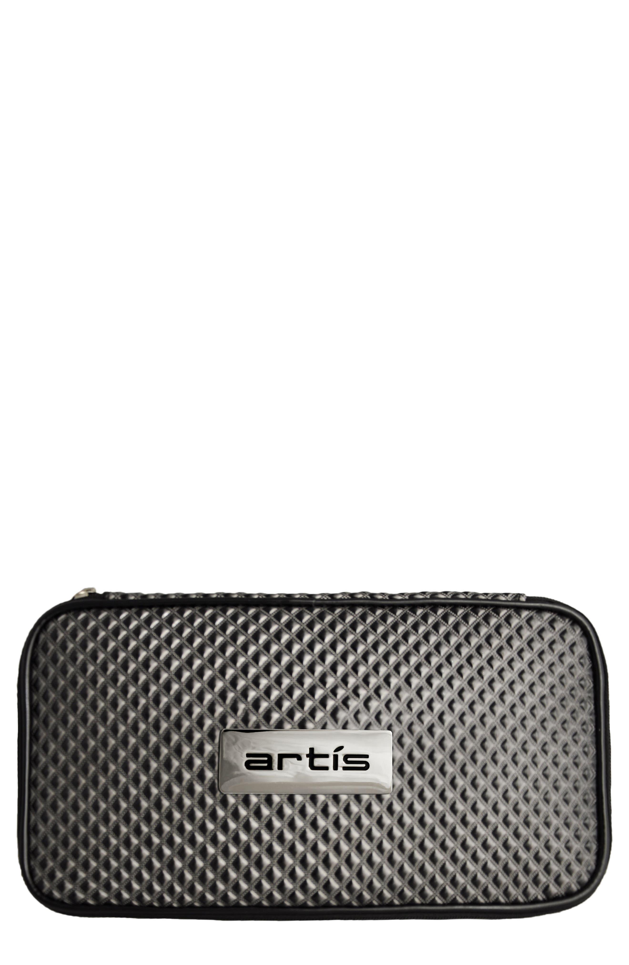 Grey Brush Case,                         Main,                         color, Grey